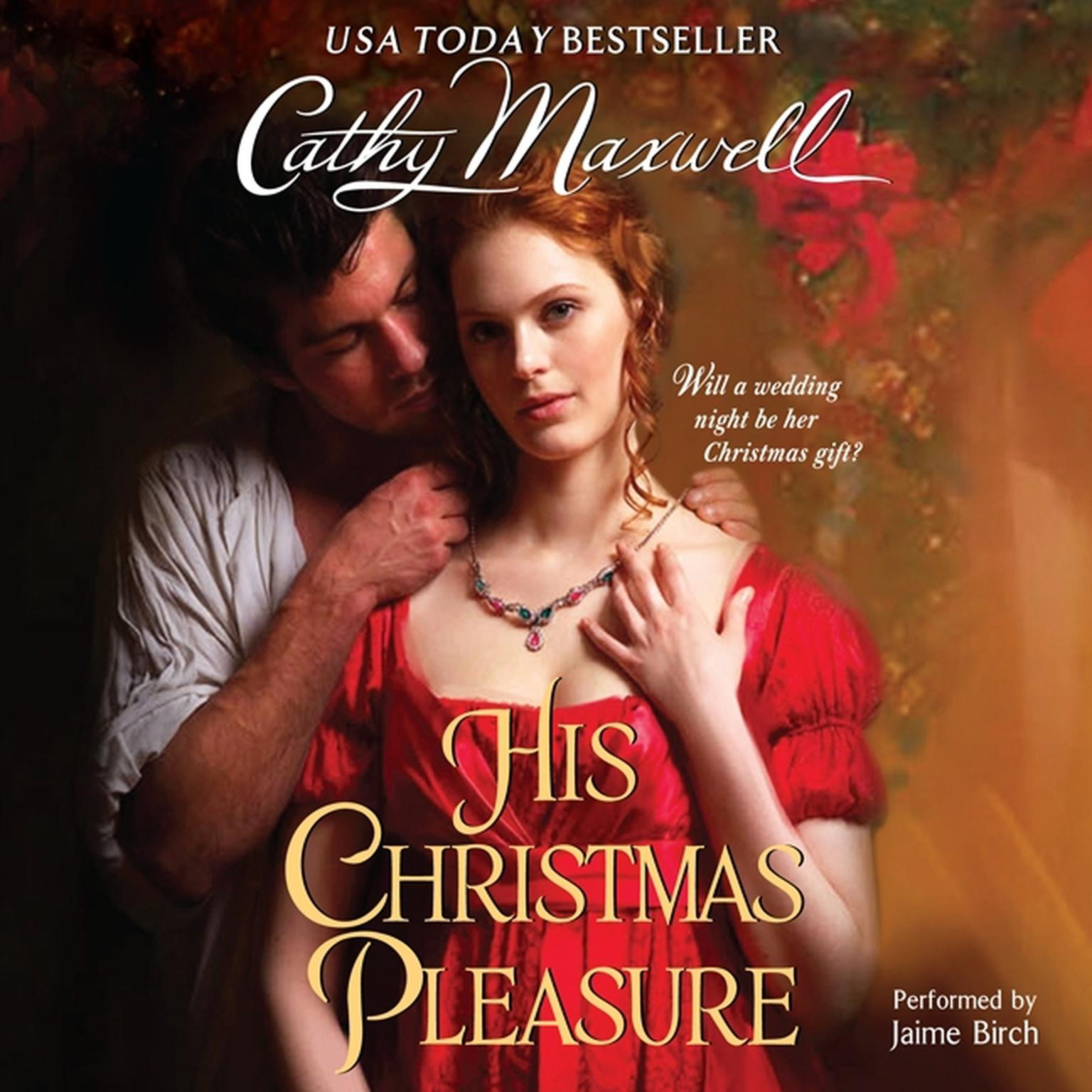 Printable His Christmas Pleasure Audiobook Cover Art