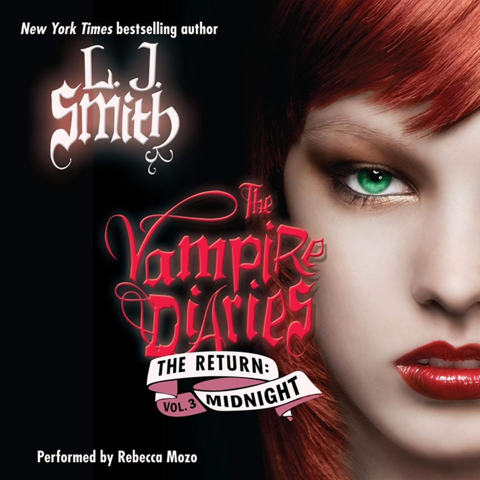 Printable The Vampire Diaries: The Return: Midnight Audiobook Cover Art