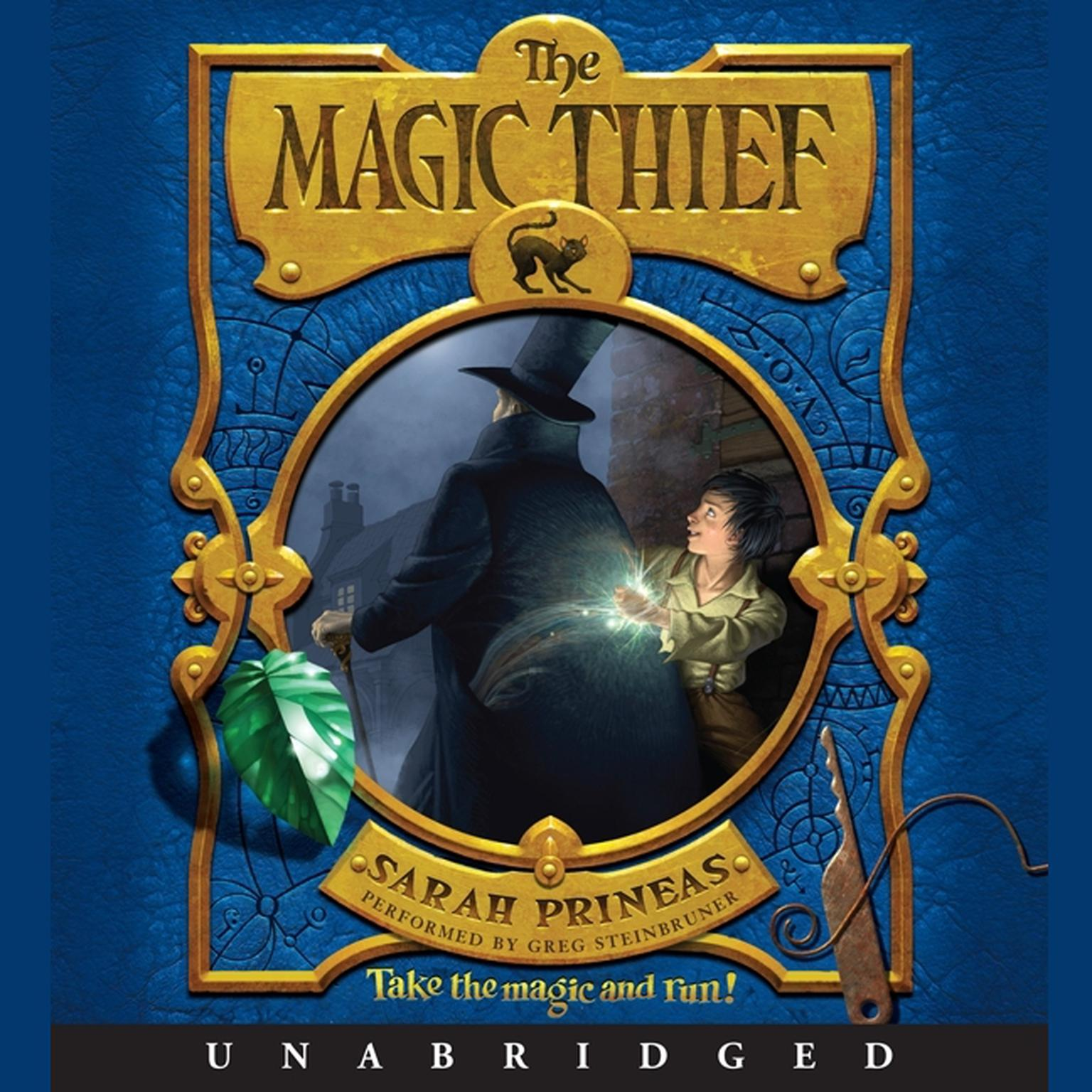 Printable The Magic Thief Audiobook Cover Art