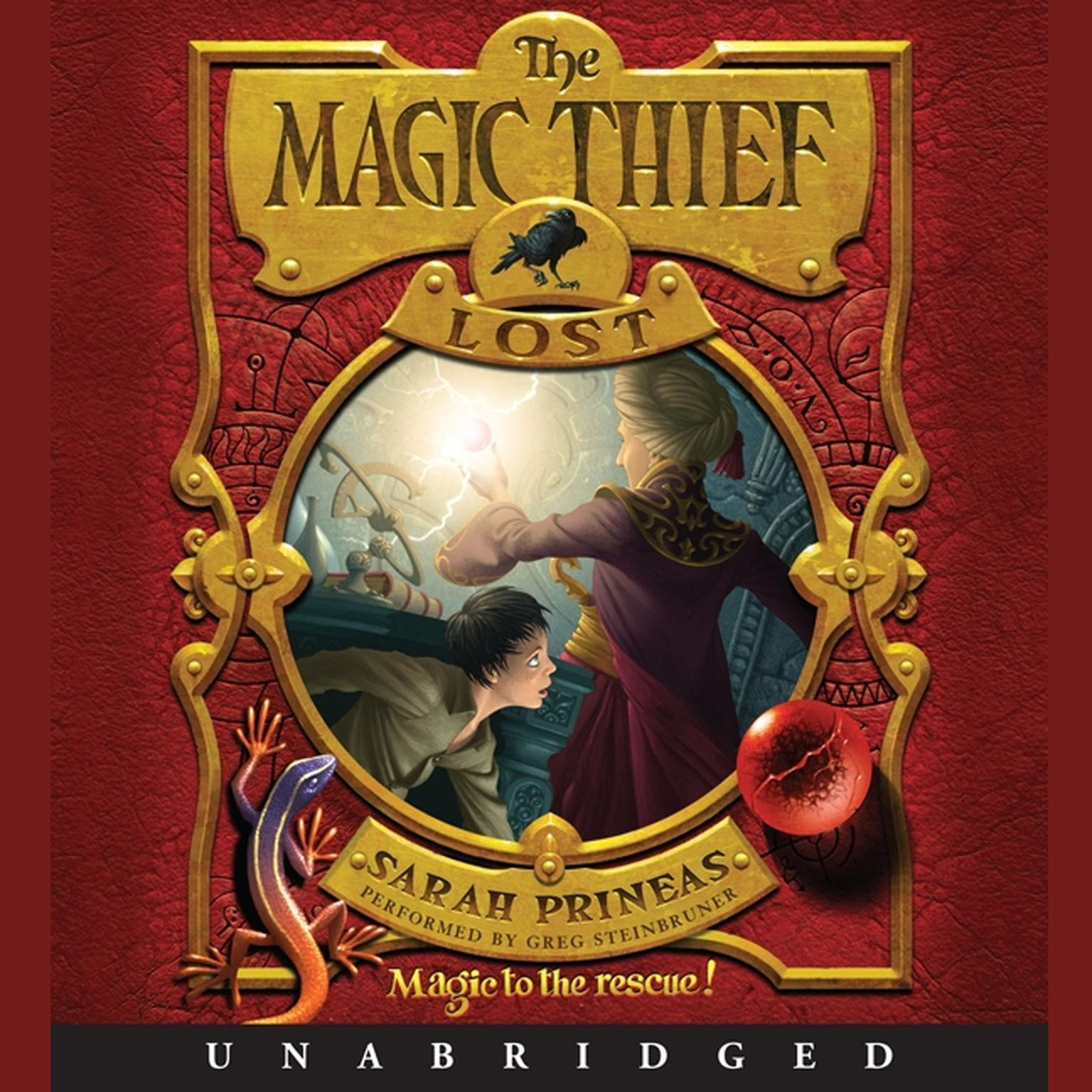 Printable The Magic Thief: Lost Audiobook Cover Art