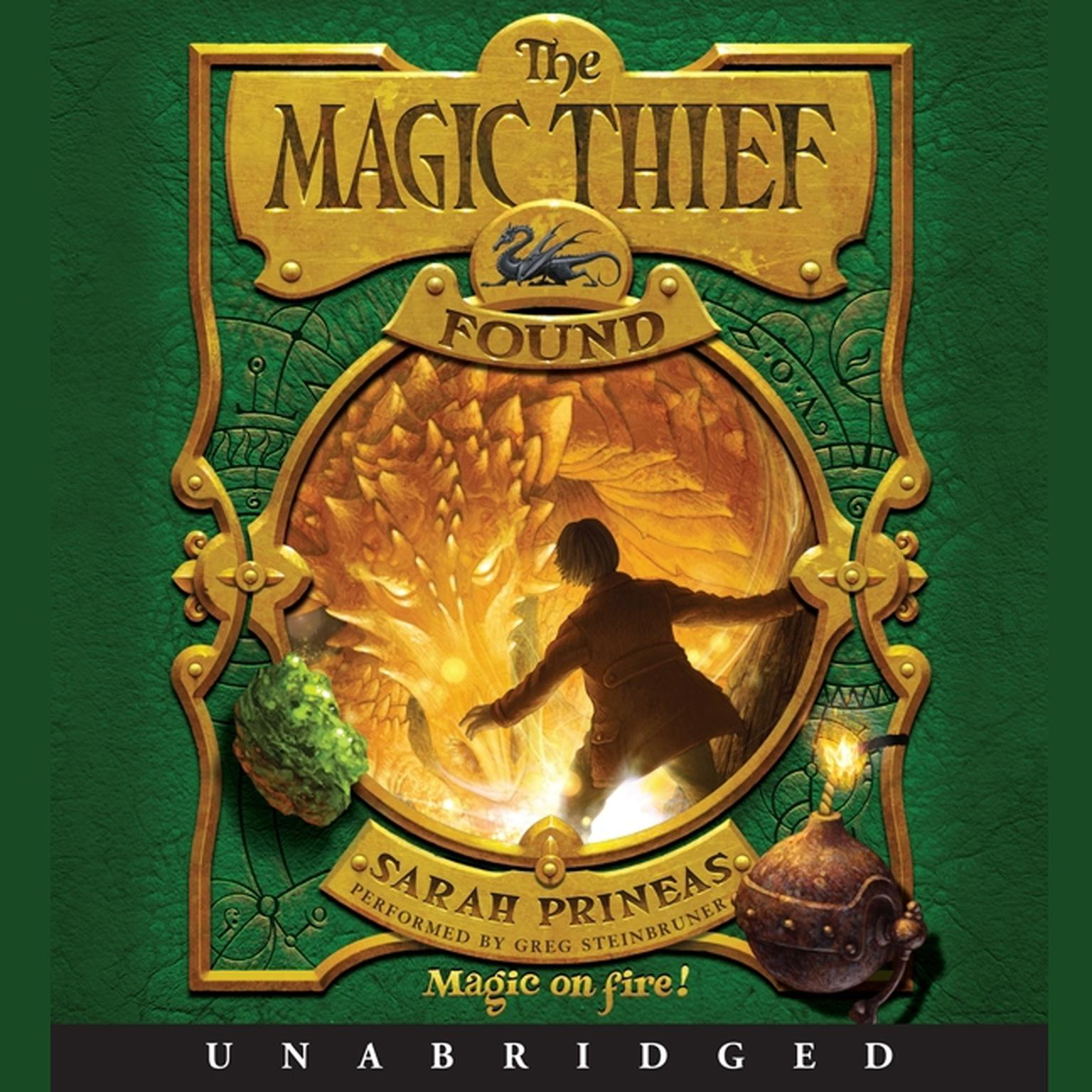 Printable The Magic Thief: Found Audiobook Cover Art