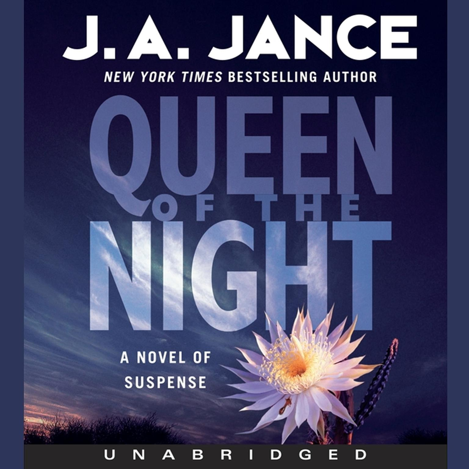 Printable Queen of the Night: A Novel of Suspense Audiobook Cover Art