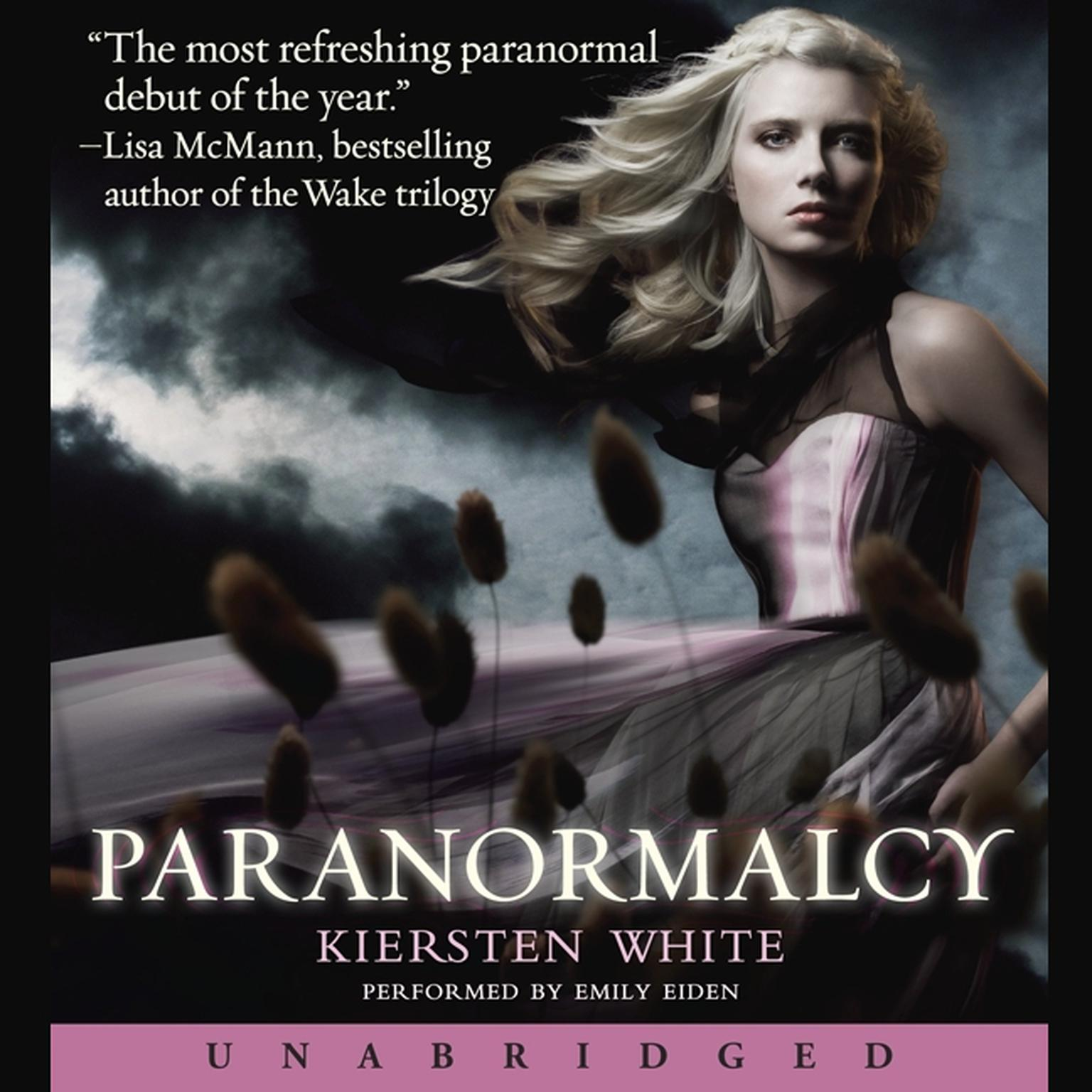 Printable Paranormalcy Audiobook Cover Art