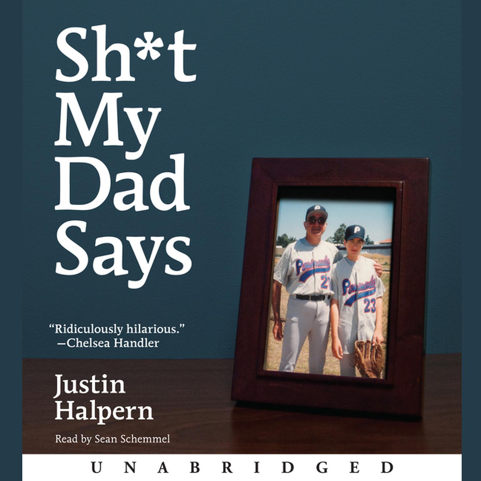 Printable Sh*t My Dad Says Audiobook Cover Art