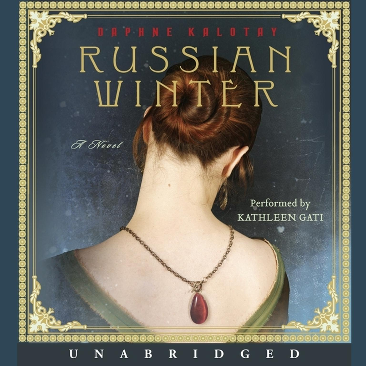 Printable Russian Winter: A Novel Audiobook Cover Art