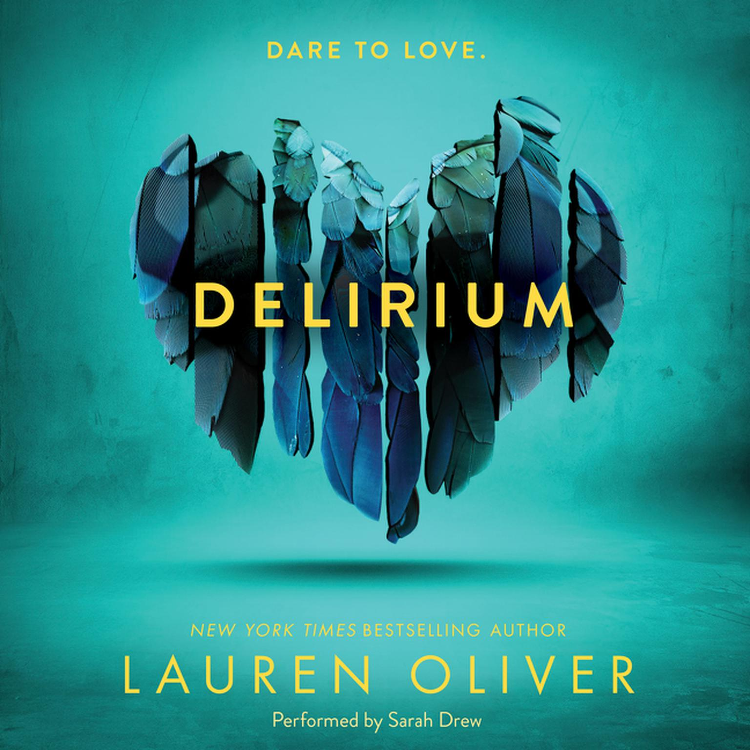 Printable Delirium Audiobook Cover Art