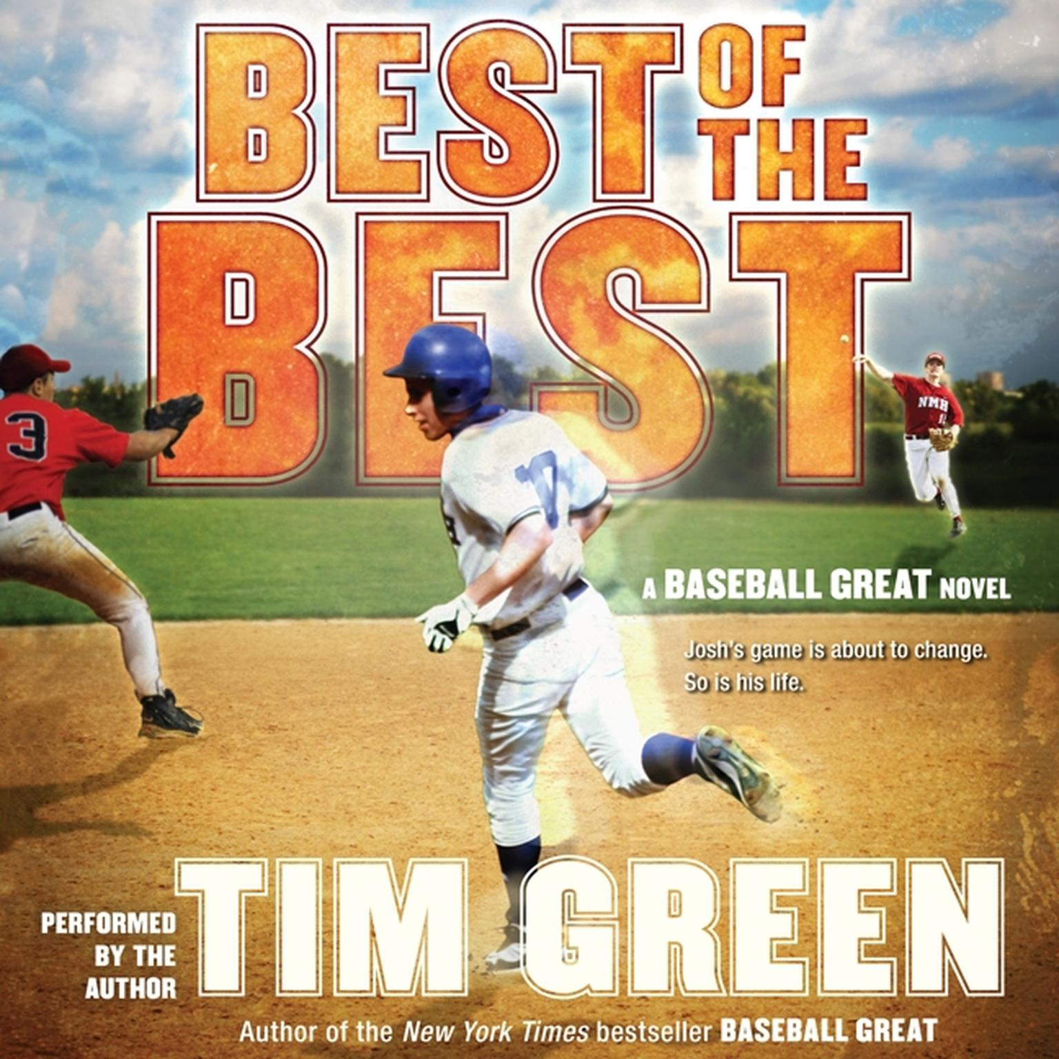 Printable Best of the Best: A Baseball Great Novel Audiobook Cover Art