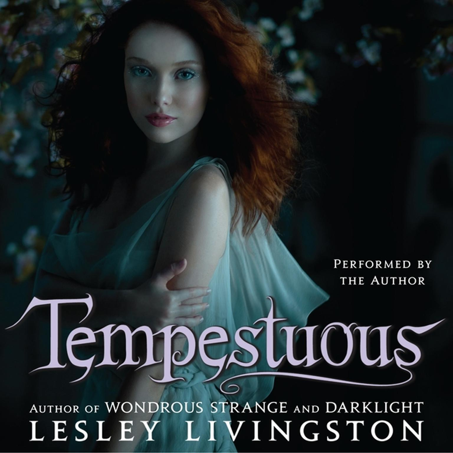 Printable Tempestuous Audiobook Cover Art