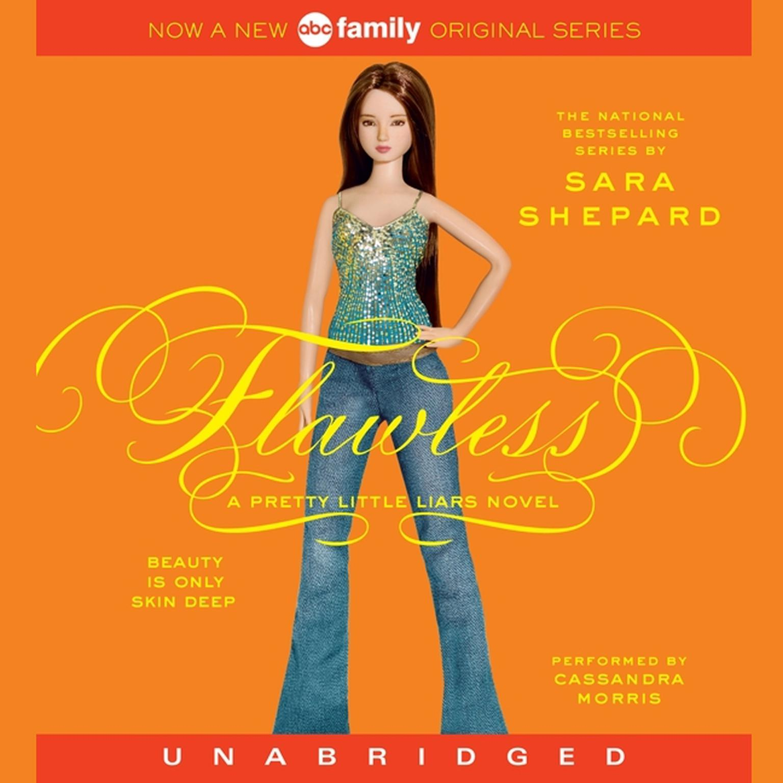 Printable Flawless: A Pretty Little Liars Novel Audiobook Cover Art