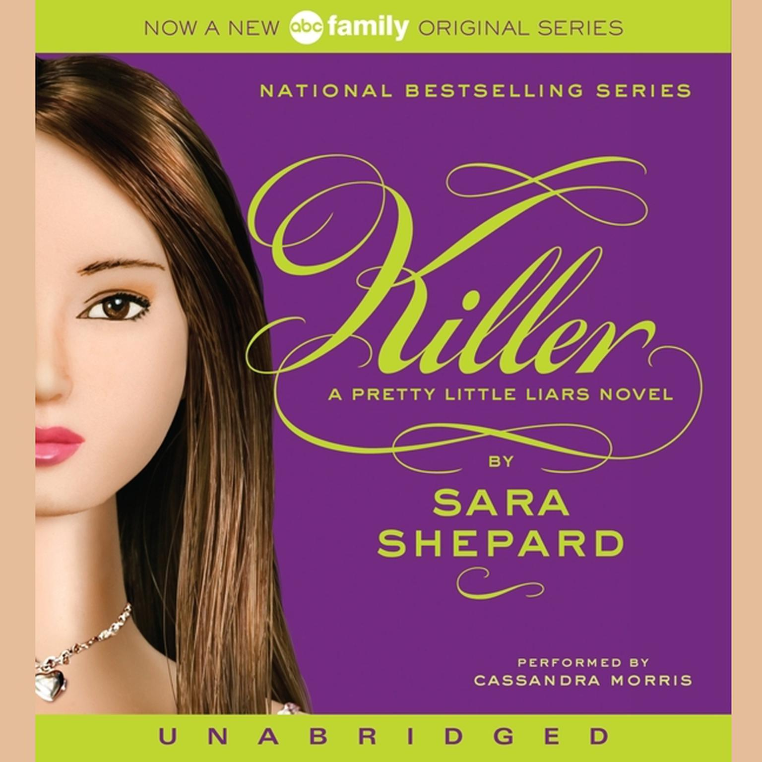Printable Pretty Little Liars #6: Killer: A Pretty Little Liars Novel Audiobook Cover Art