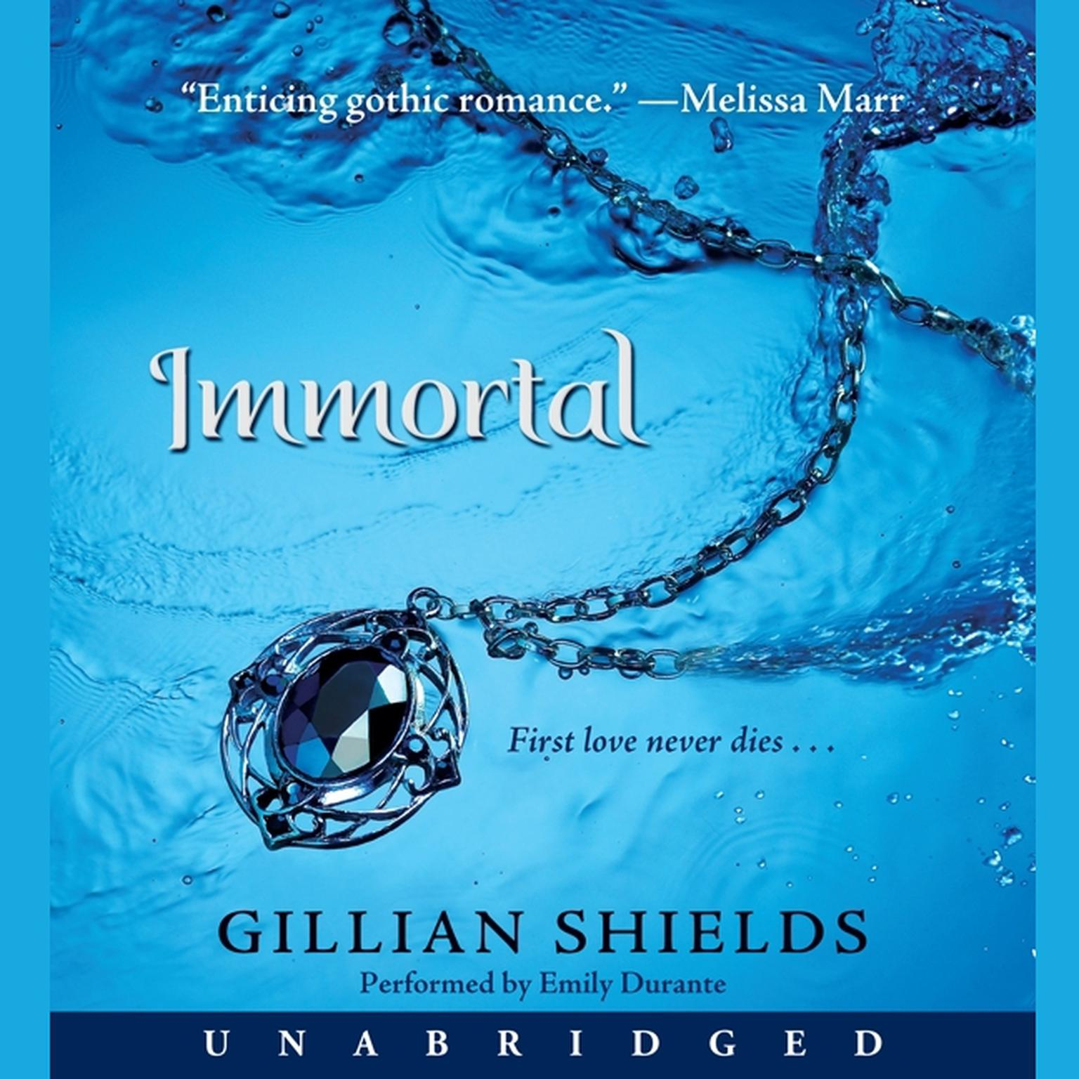 Printable Immortal Audiobook Cover Art