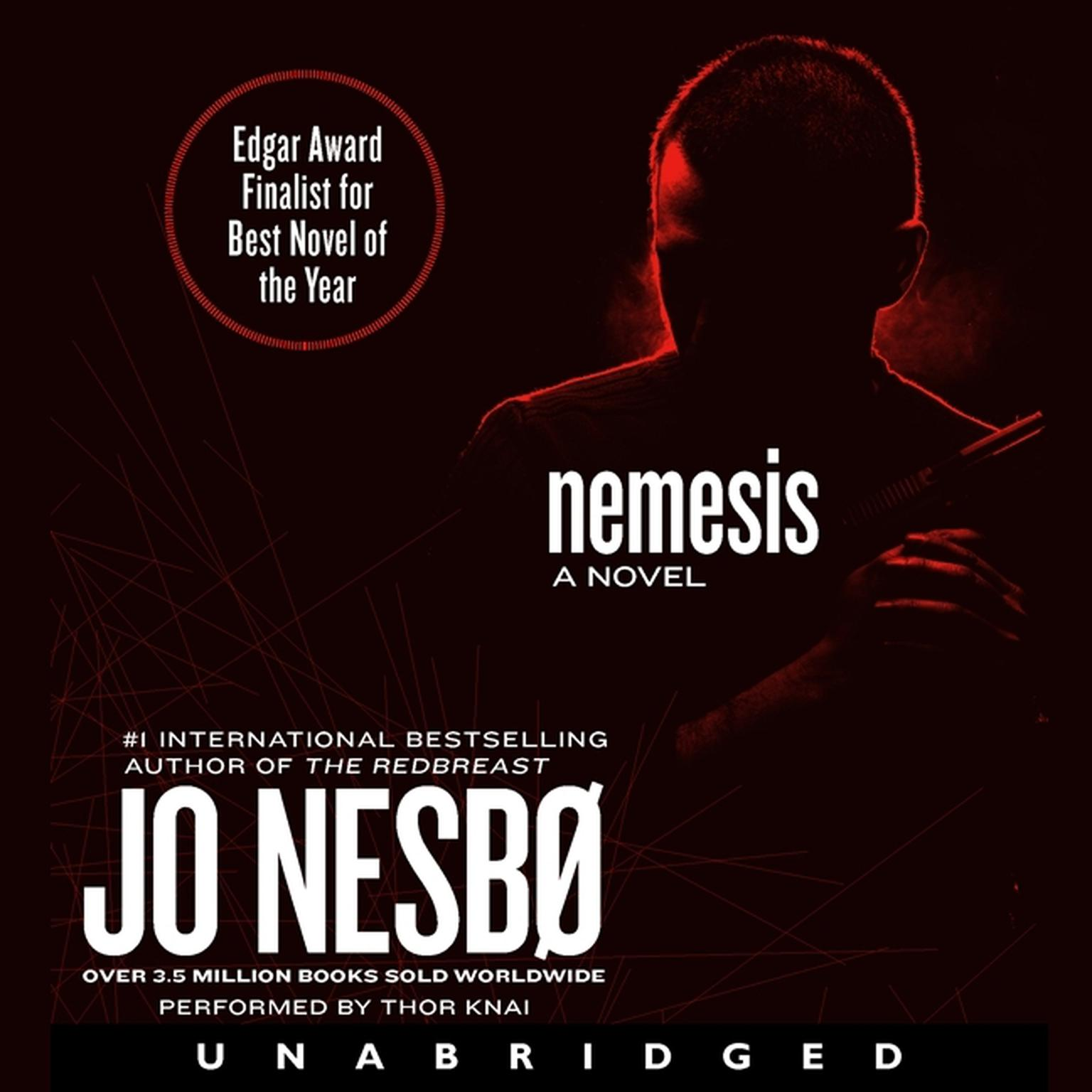 Printable Nemesis Audiobook Cover Art