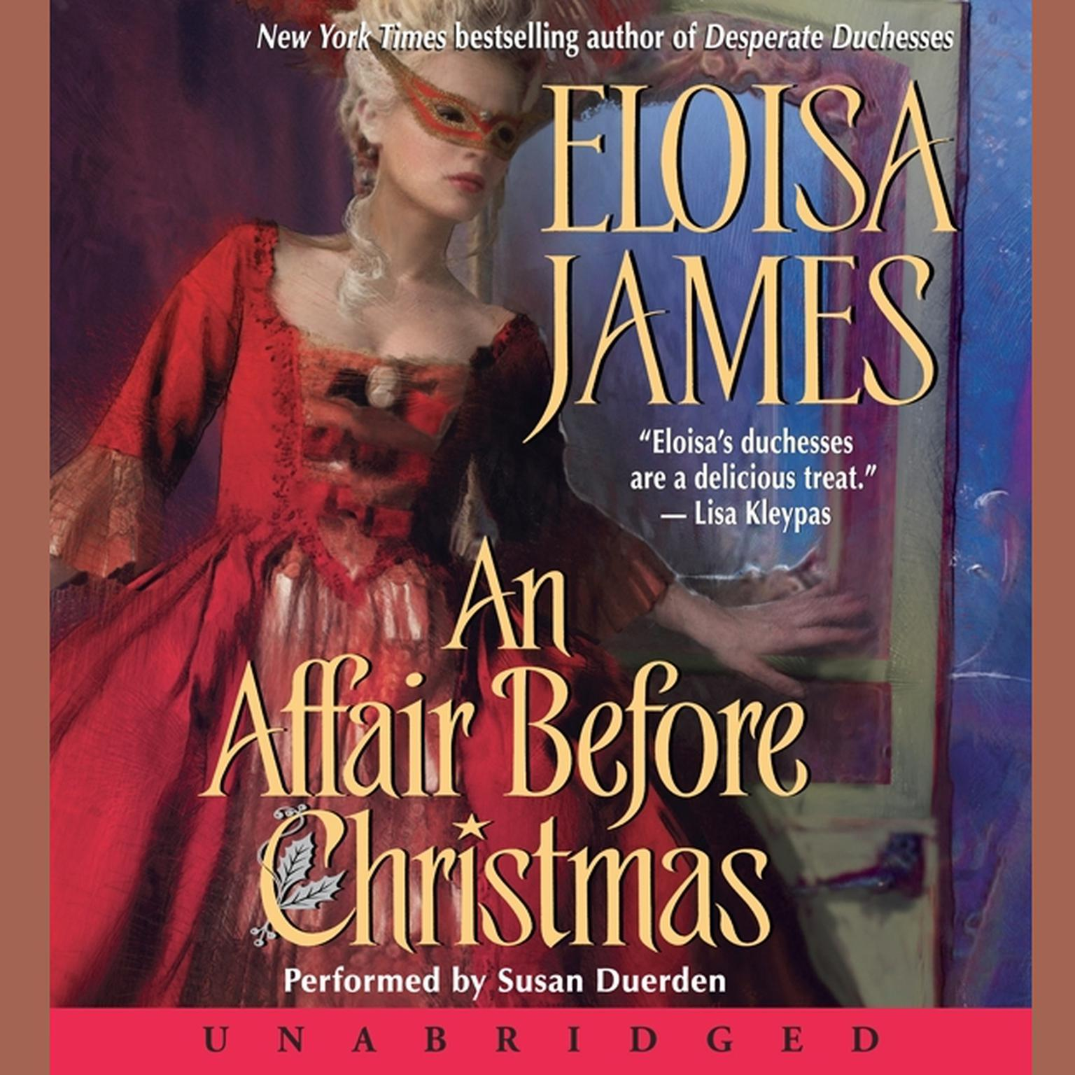 Printable An Affair Before Christmas Audiobook Cover Art