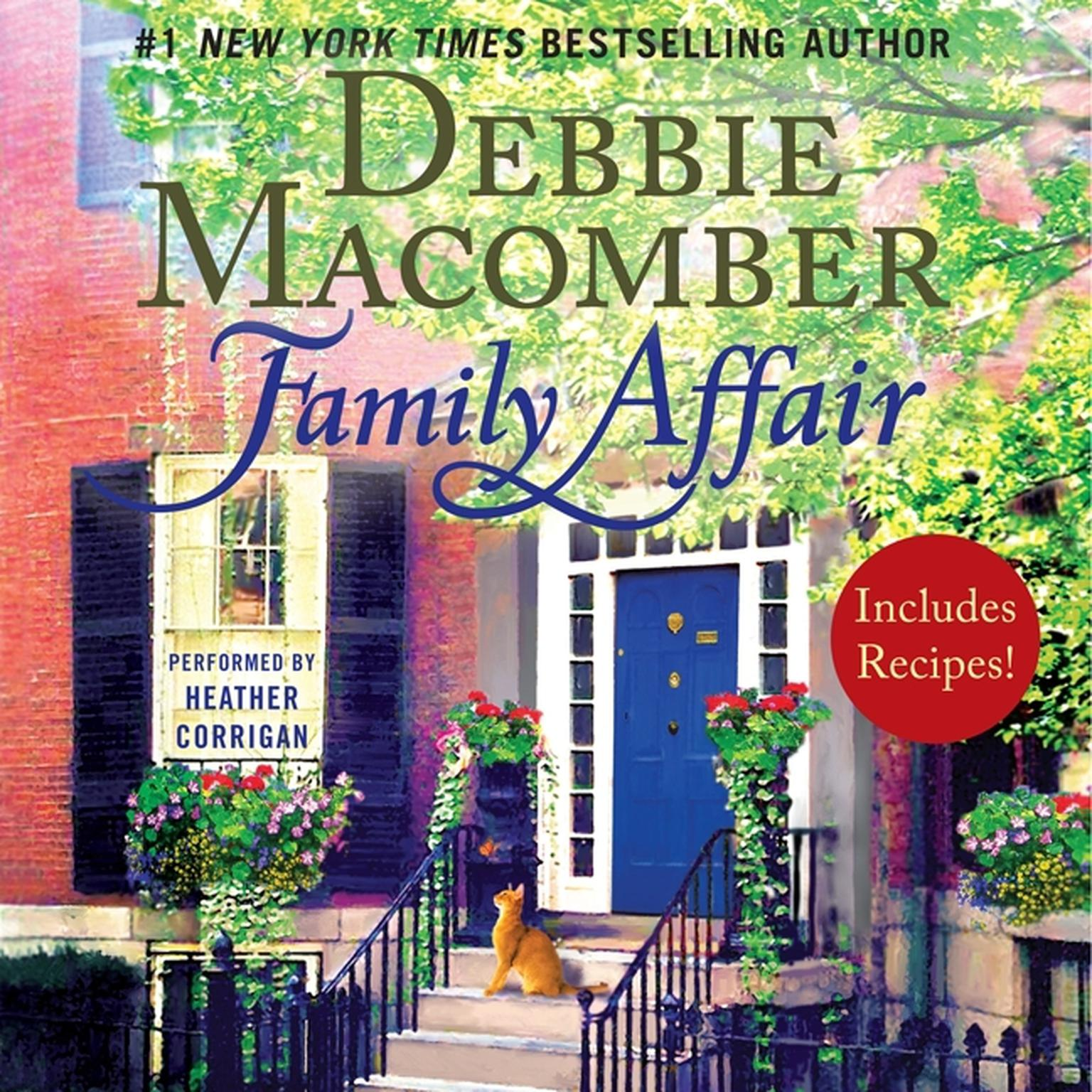 Printable Family Affair Audiobook Cover Art