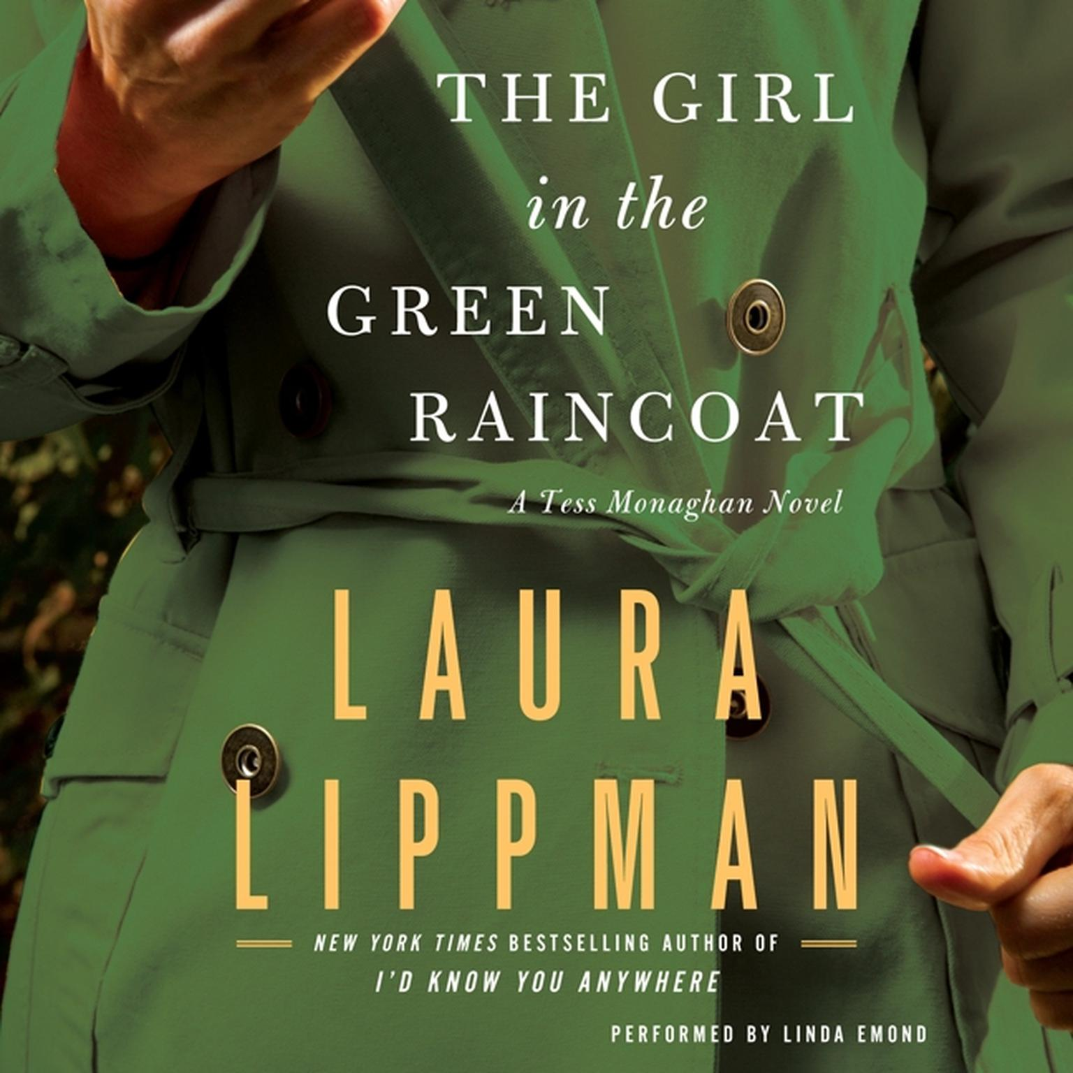 Printable The Girl in the Green Raincoat: A Tess Monaghan Novel Audiobook Cover Art