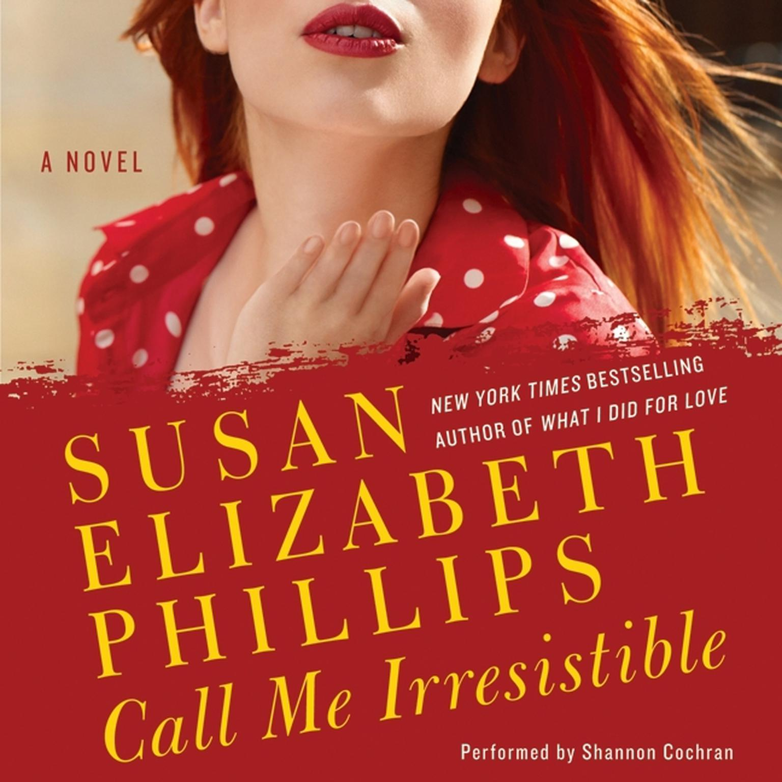 Printable Call Me Irresistible Audiobook Cover Art
