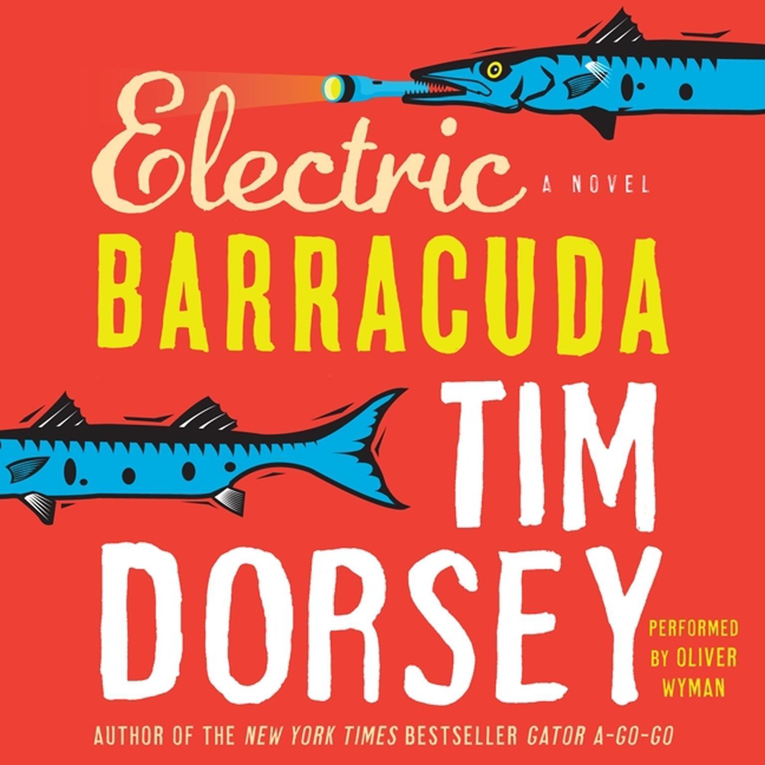 Printable Electric Barracuda Audiobook Cover Art