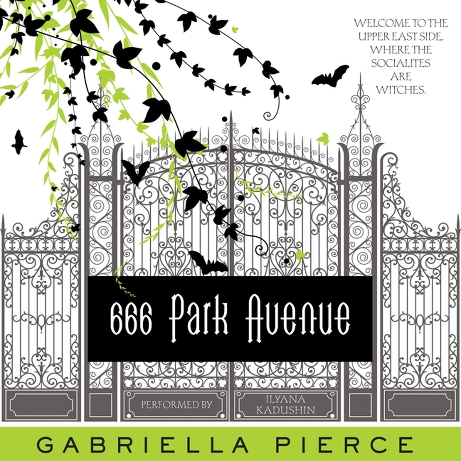 Printable 666 Park Avenue Audiobook Cover Art