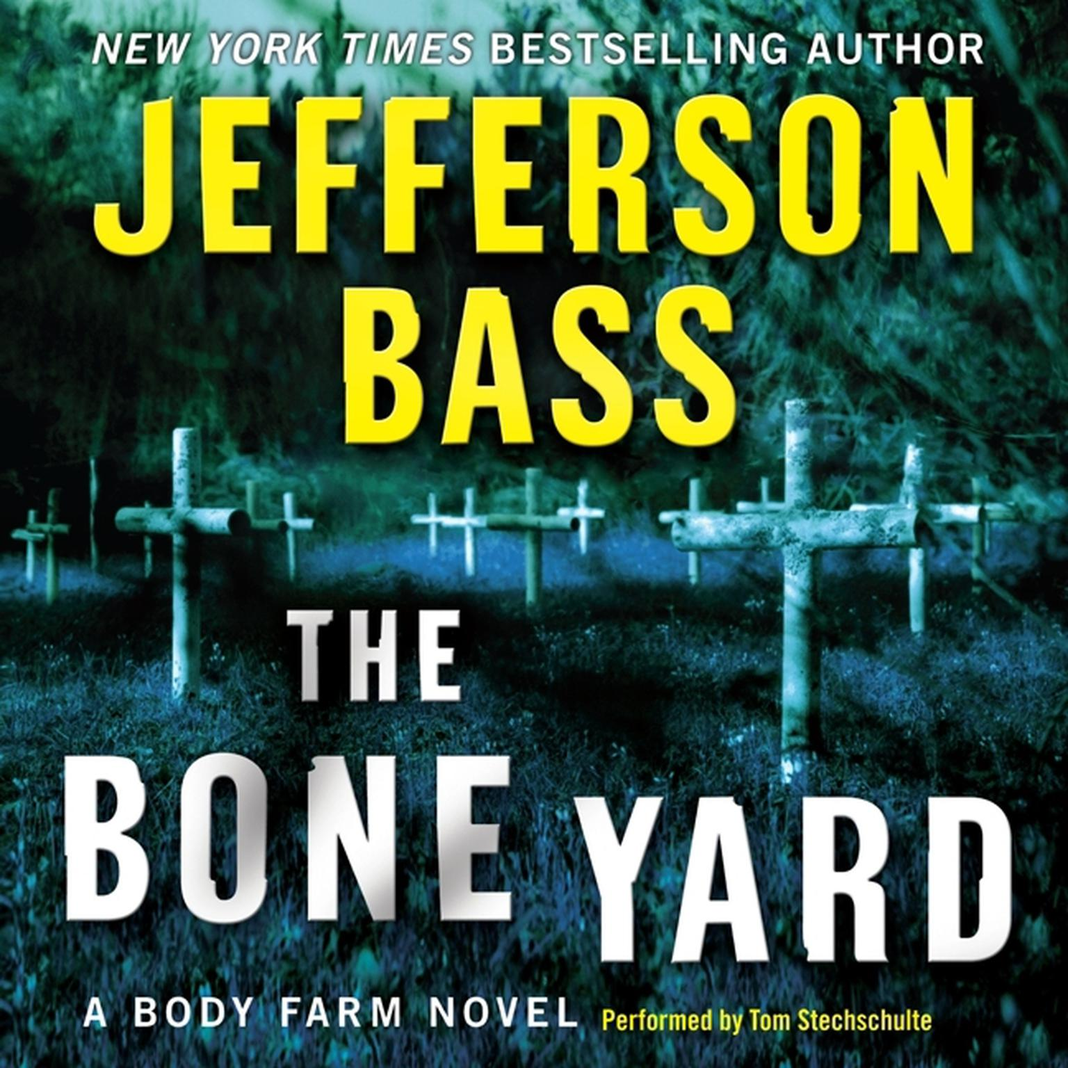 Printable The Bone Yard: A Body Farm Novel Audiobook Cover Art