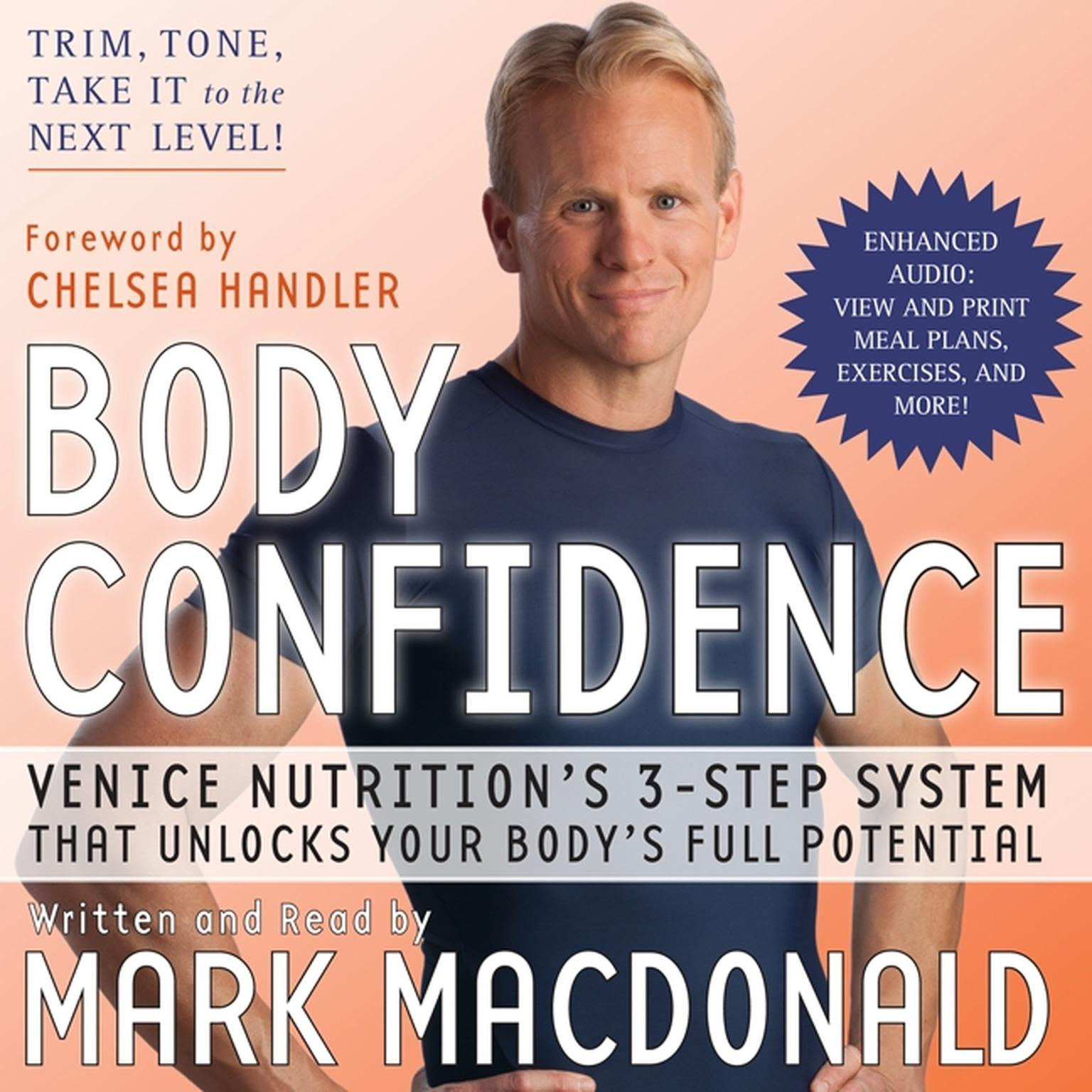 Printable Body Confidence: Venice Nutrition's 3 Step System That Unlocks Your Body's Full Potential Audiobook Cover Art