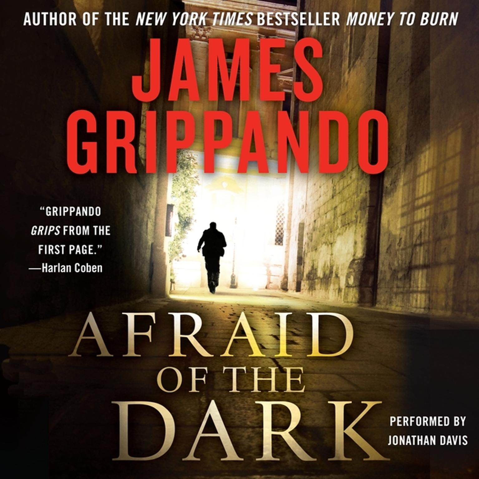 Printable Afraid of the Dark Audiobook Cover Art