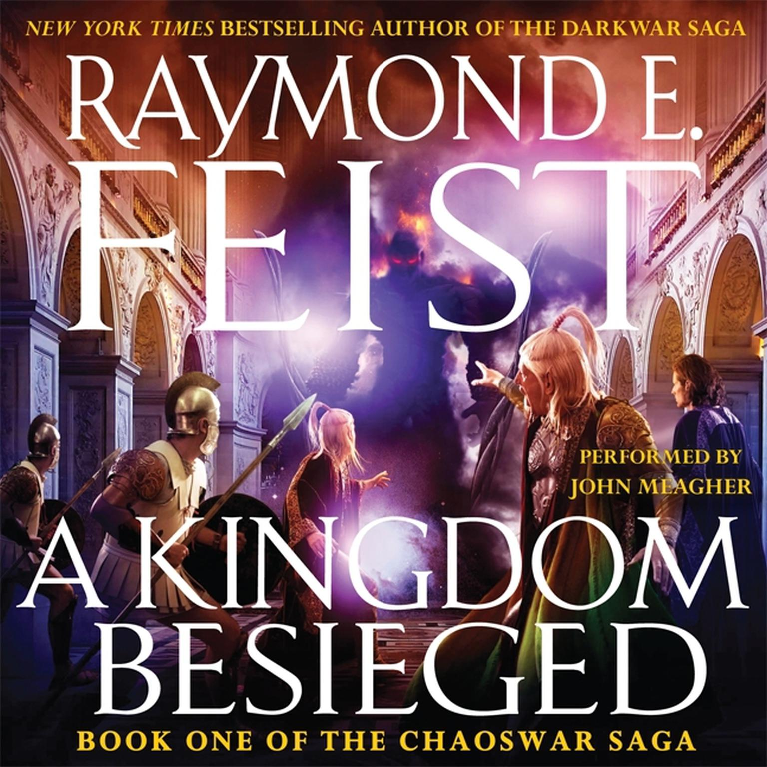 Printable A Kingdom Besieged Audiobook Cover Art