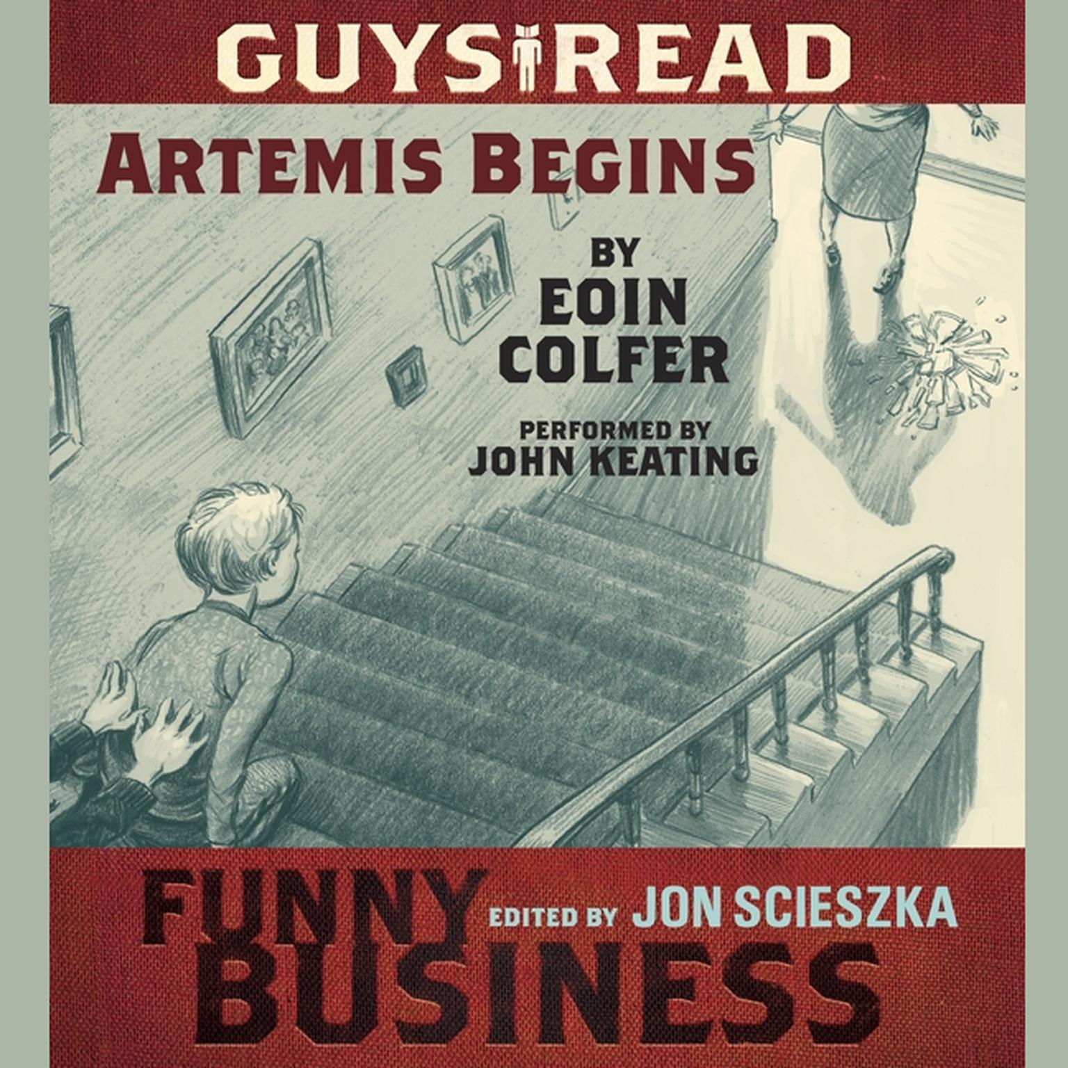 Printable Guys Read: Artemis Begins: A Story from Guys Read: Funny Business Audiobook Cover Art