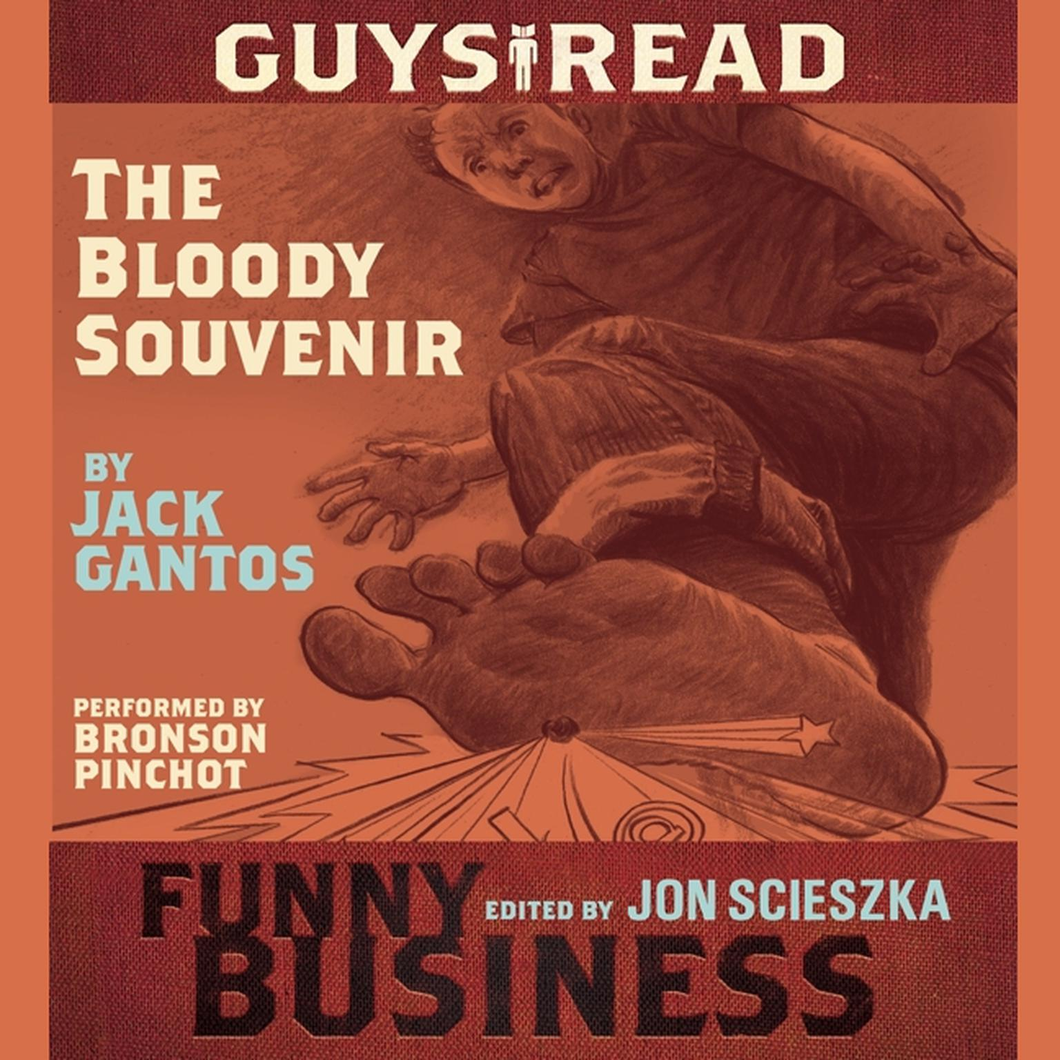 Printable Guys Read: The Bloody Souvenir: A Story from Guys Read: Funny Business Audiobook Cover Art