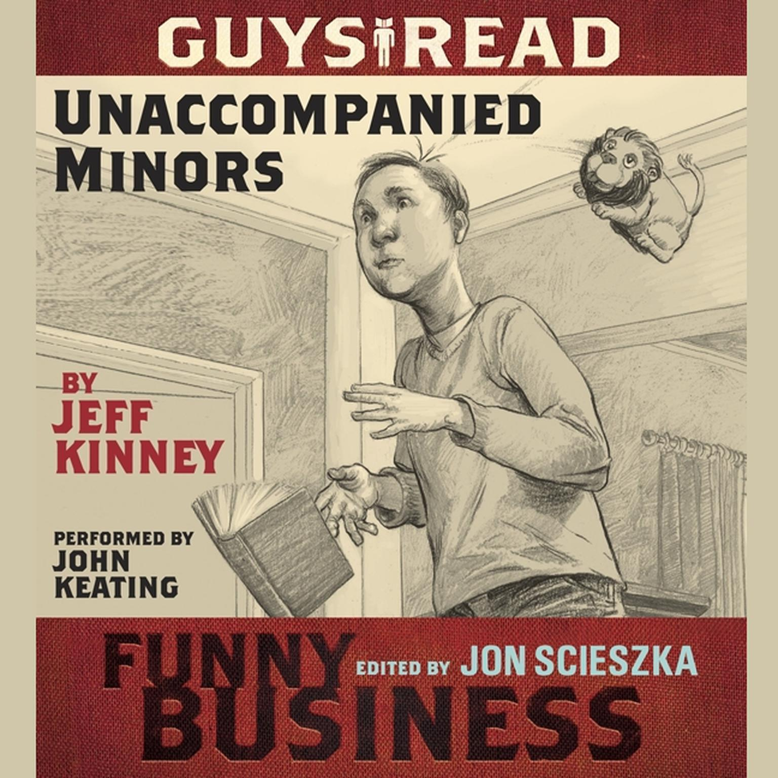 Printable Guys Read: Unaccompanied Minors: A Story from Guys Read: Funny Business Audiobook Cover Art