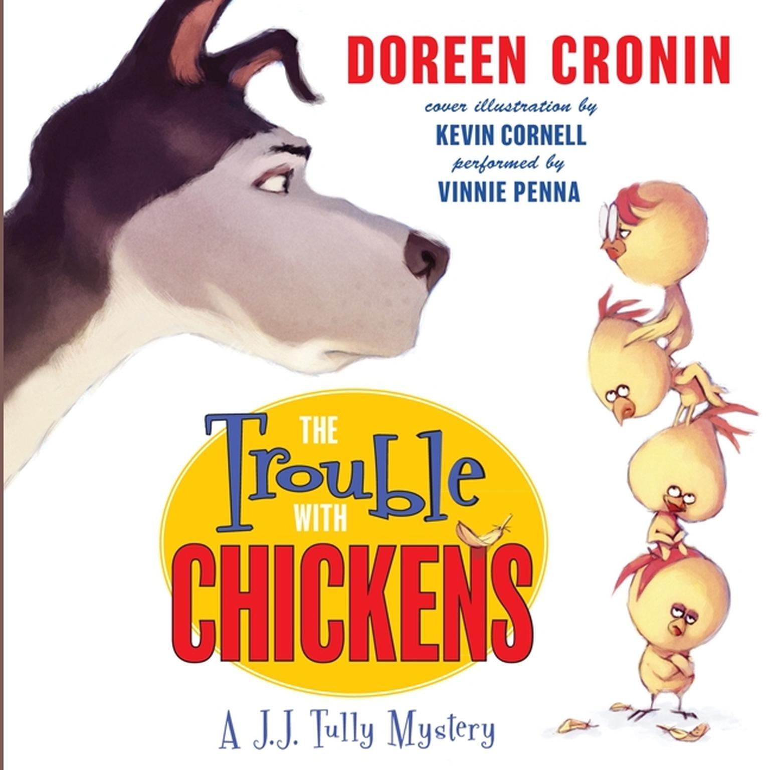 Printable The Trouble with Chickens: A J.J. Tully Mystery Audiobook Cover Art