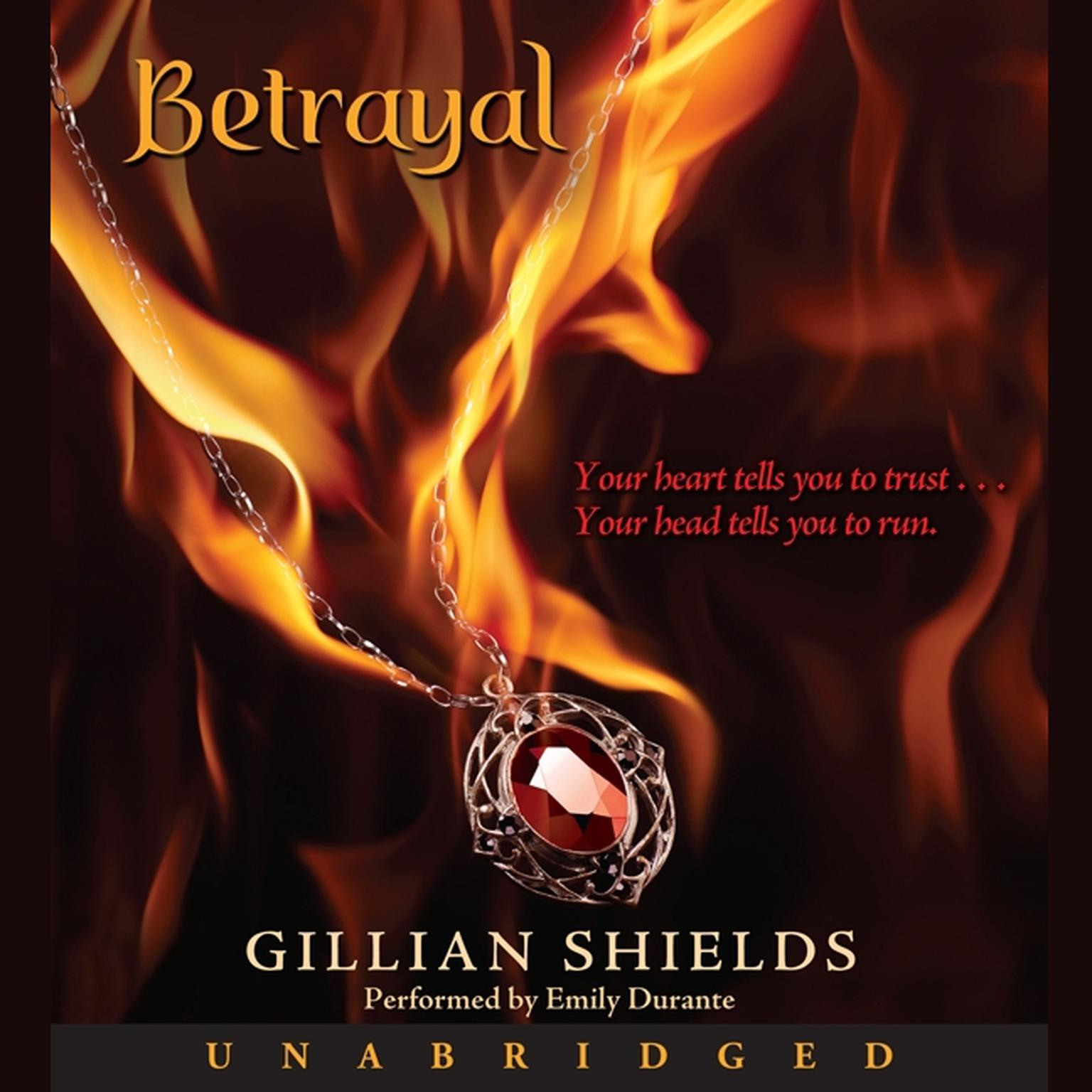 Printable Betrayal Audiobook Cover Art