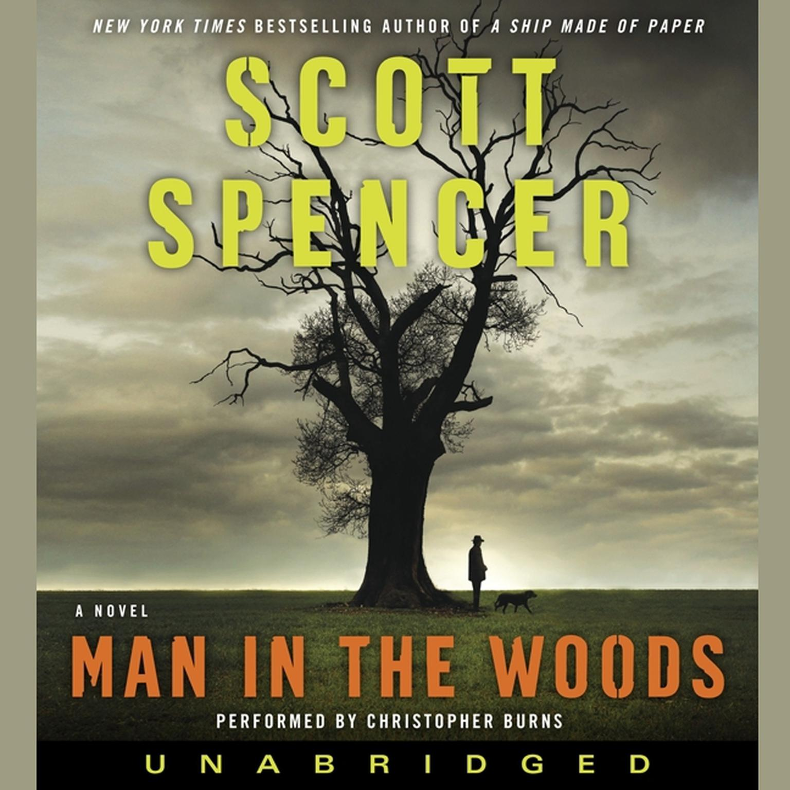 Printable Man in the Woods: A Novel Audiobook Cover Art
