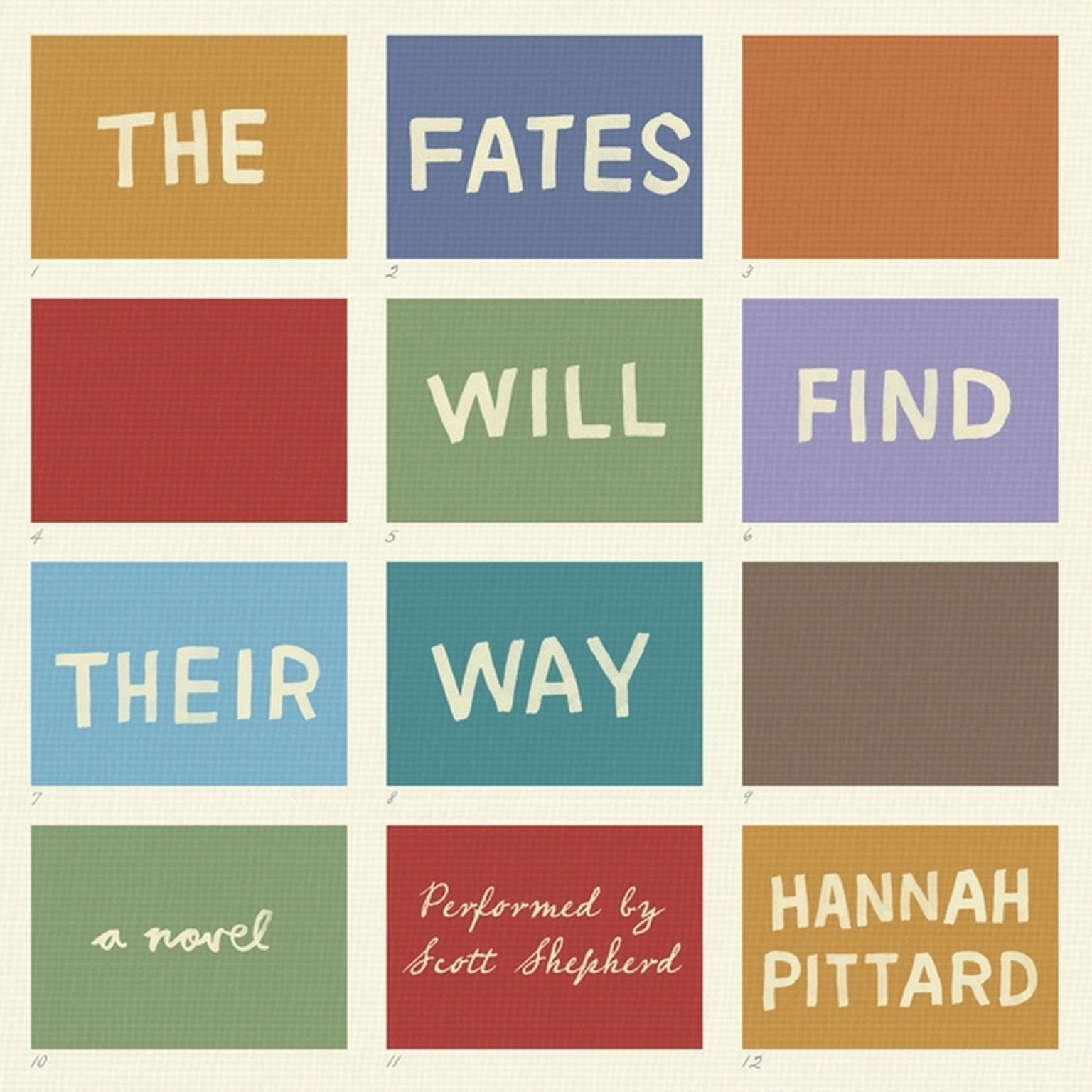 Printable The Fates Will Find Their Way: A Novel Audiobook Cover Art