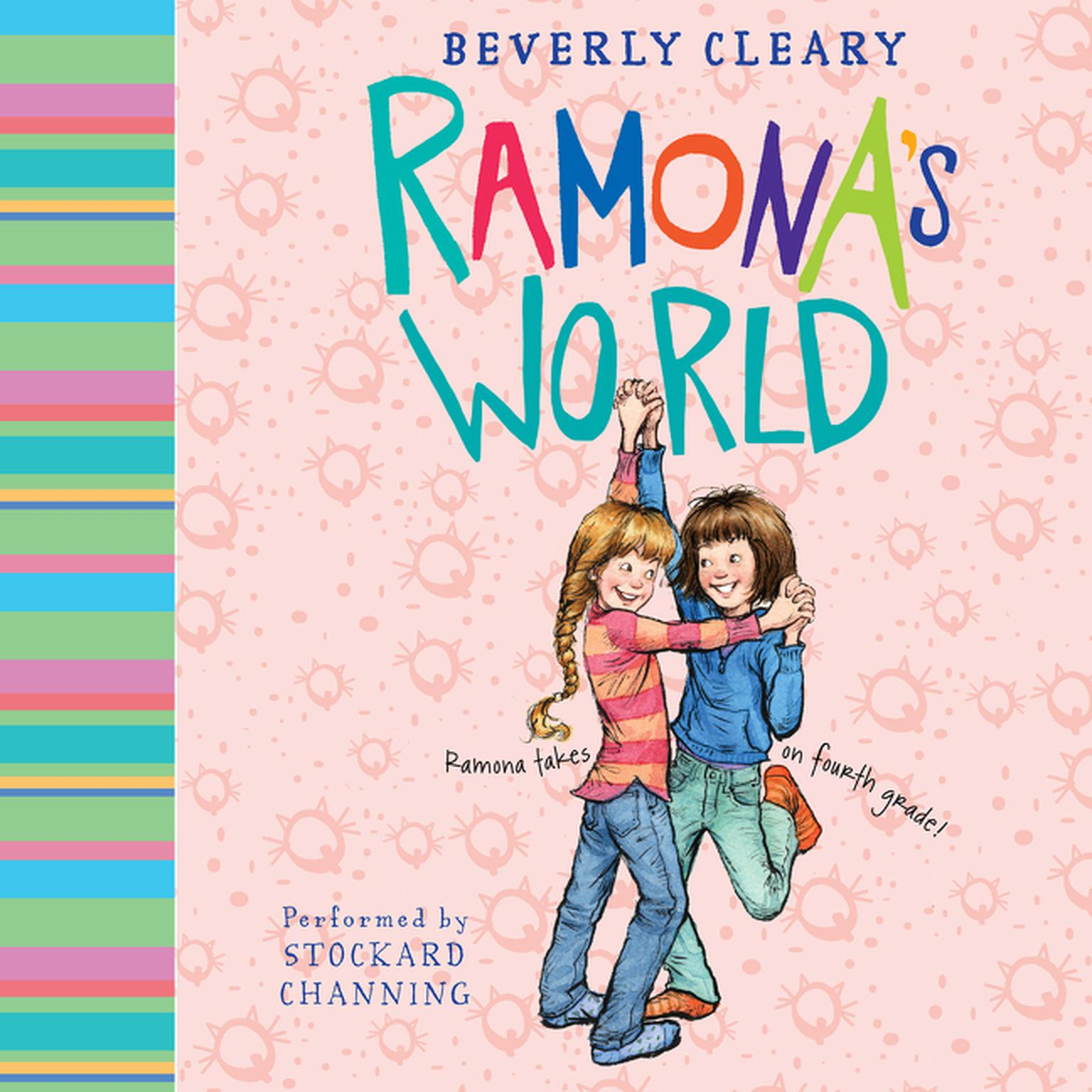Printable Ramona's World Audiobook Cover Art