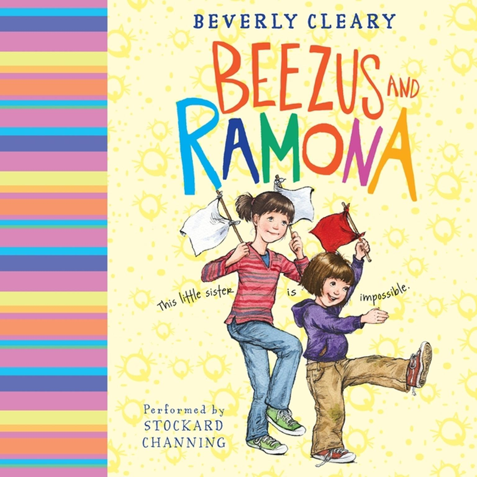 Printable Beezus and Ramona Audiobook Cover Art