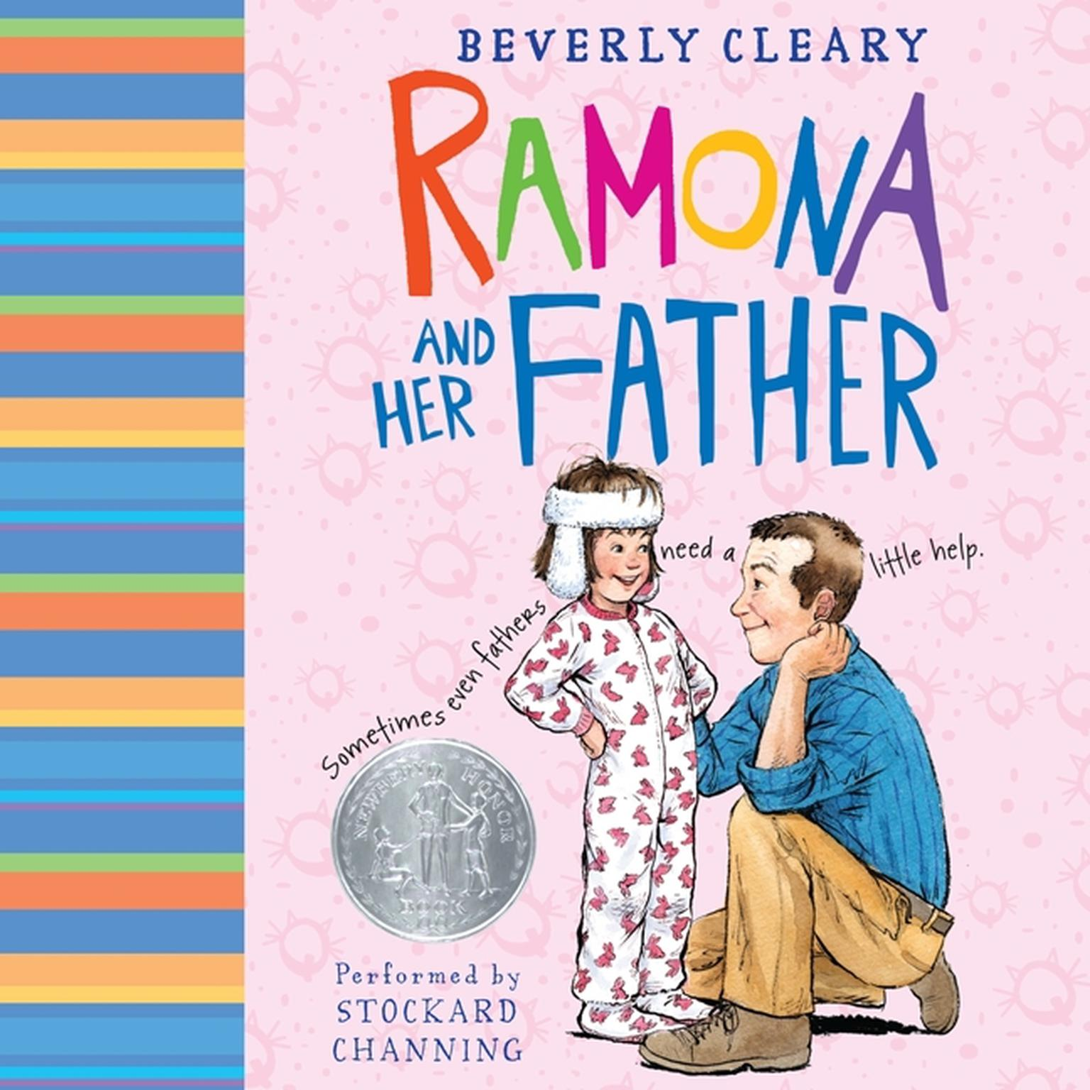 Printable Ramona and Her Father Audiobook Cover Art