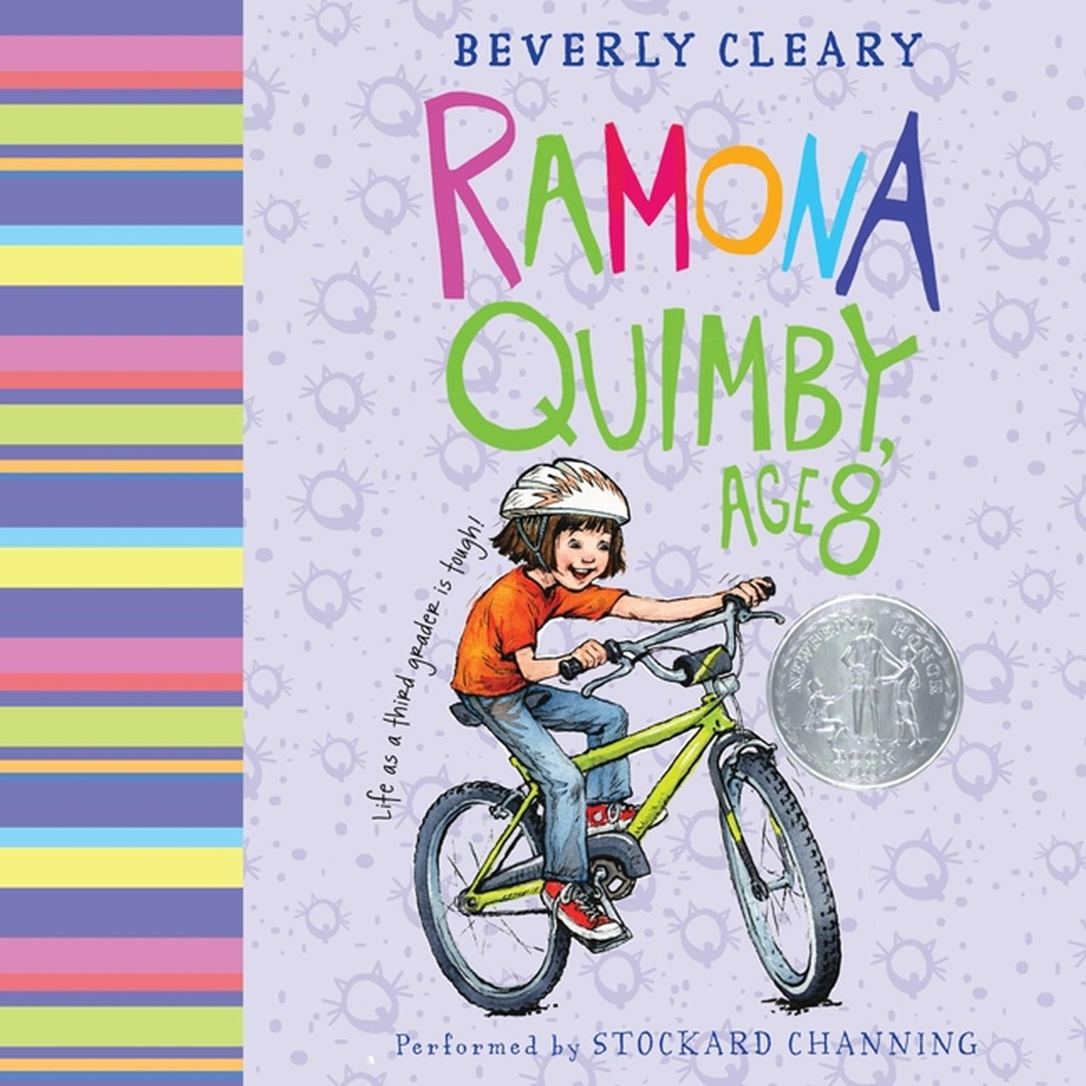 Printable Ramona Quimby, Age 8 Audiobook Cover Art