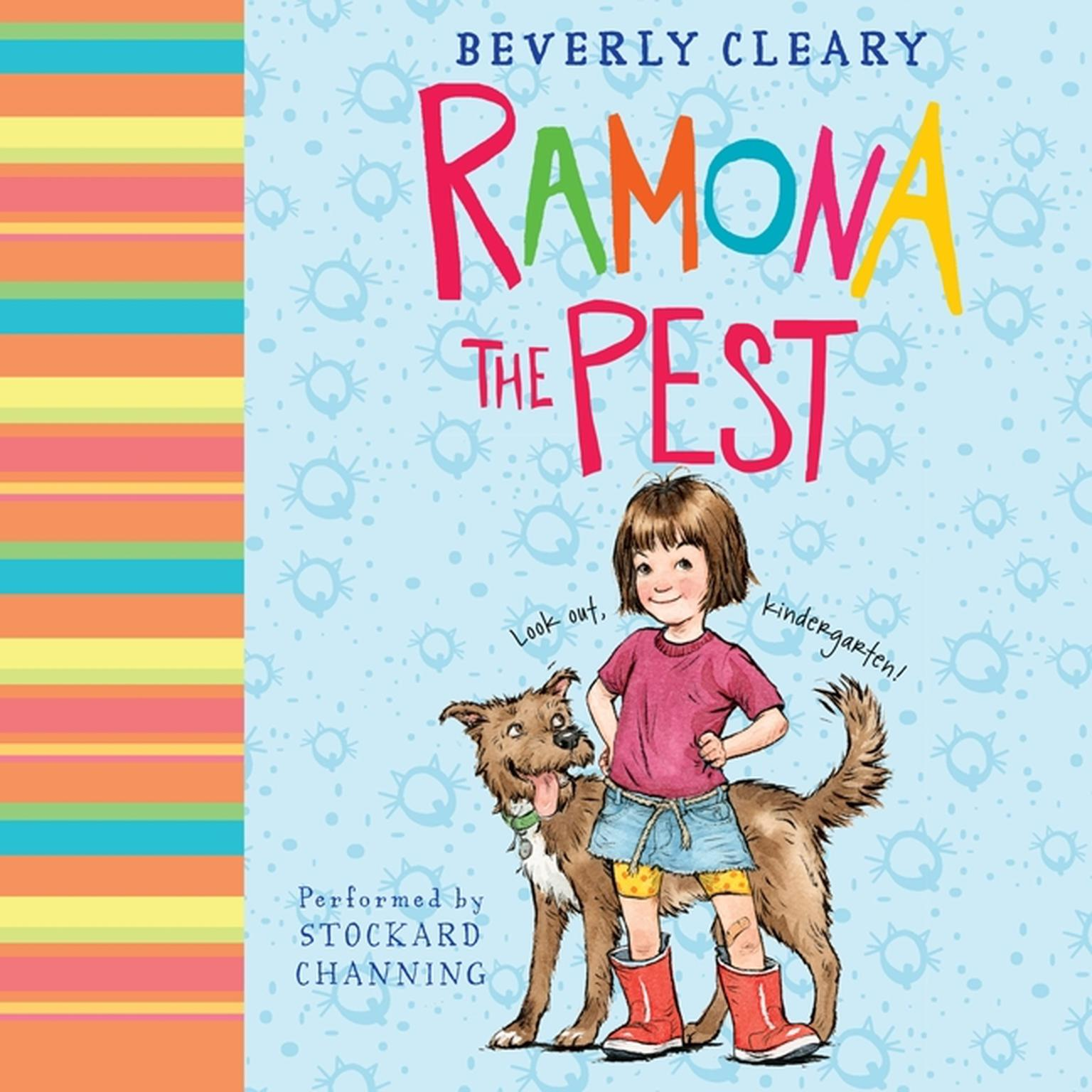 Printable Ramona the Pest Audiobook Cover Art