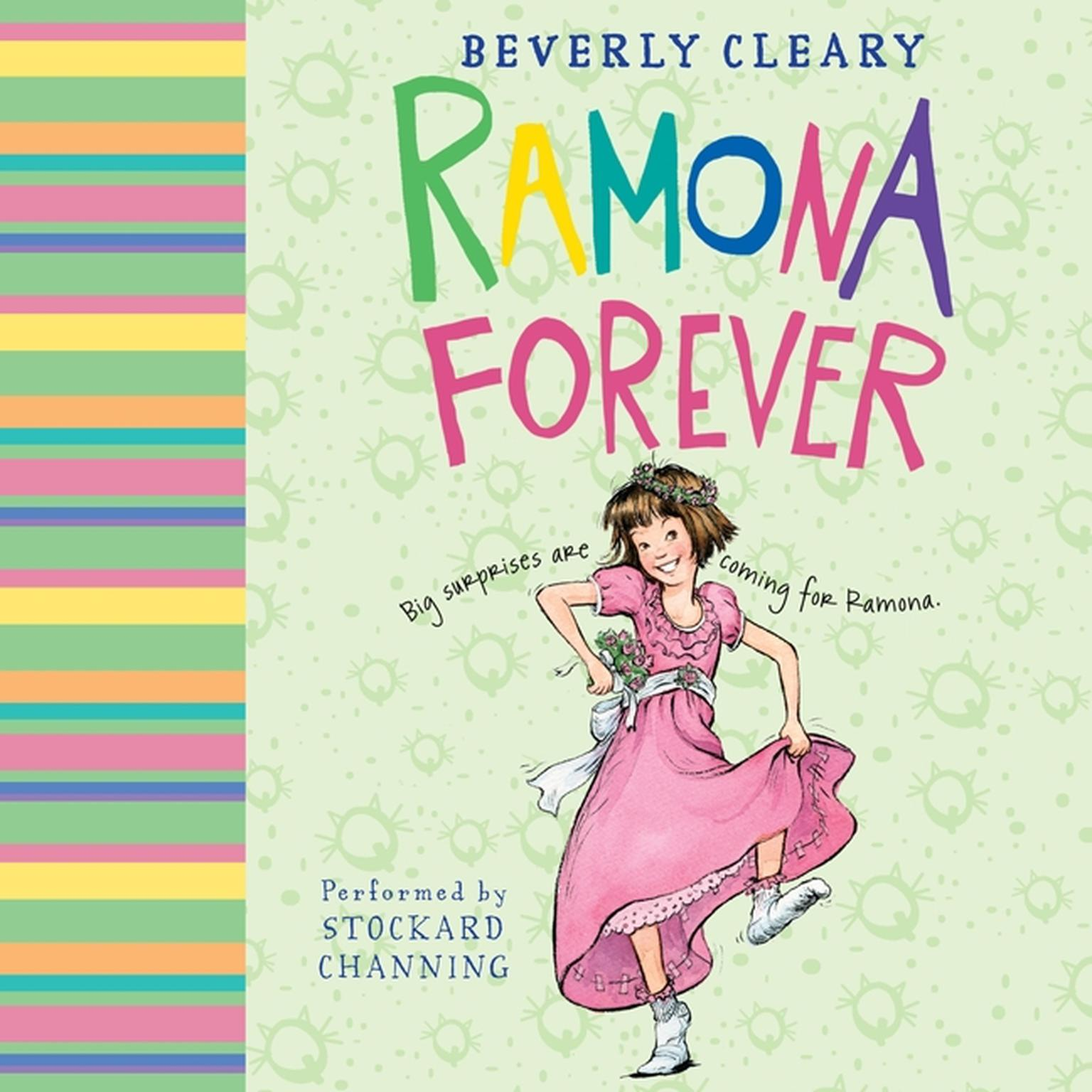 Printable Ramona Forever Audiobook Cover Art
