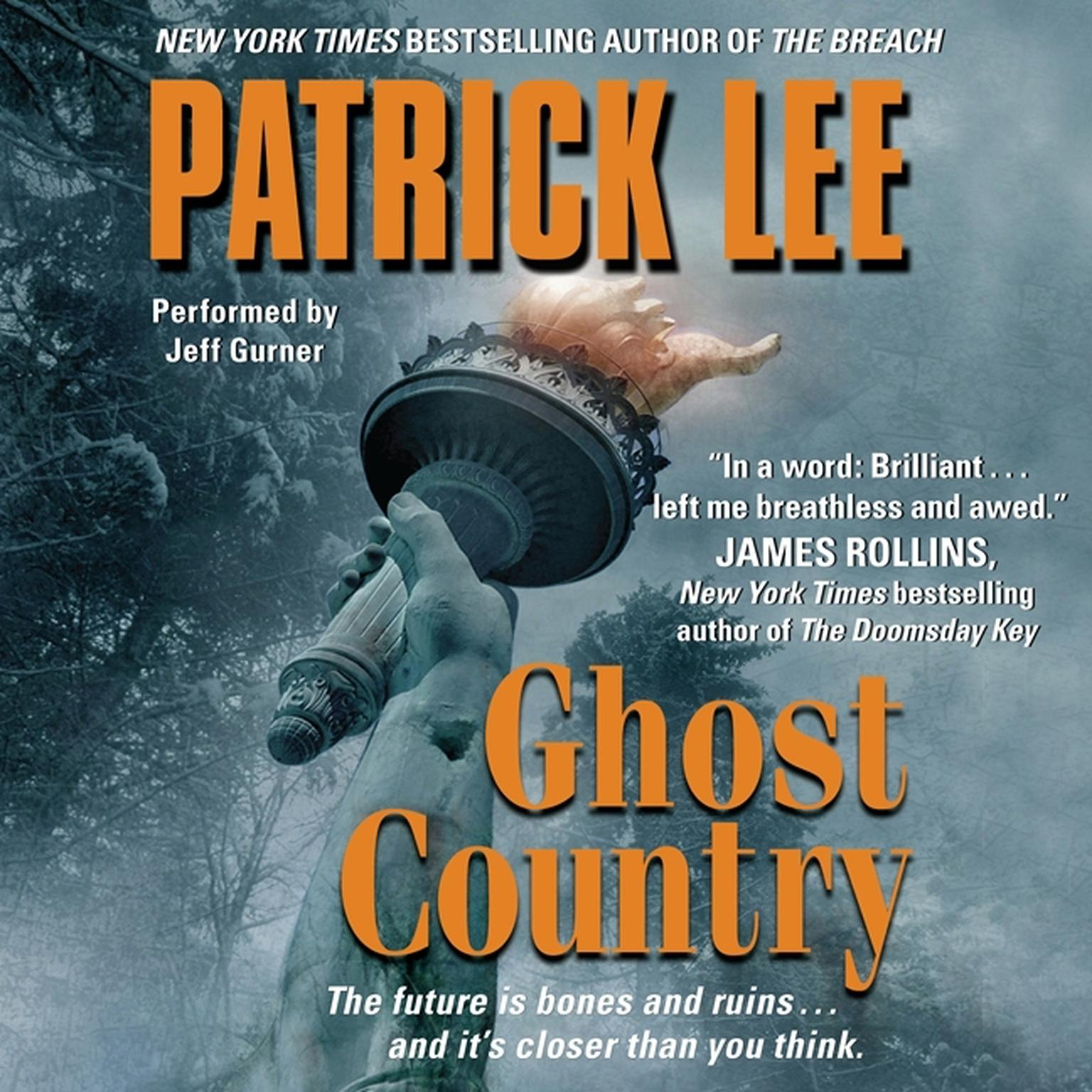 Printable Ghost Country Audiobook Cover Art