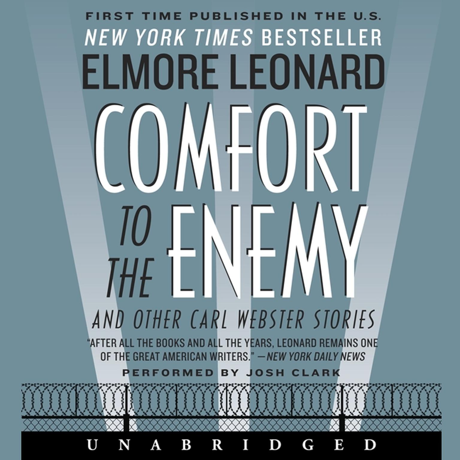 Printable Comfort to the Enemy and Other Carl Webster Stories Audiobook Cover Art