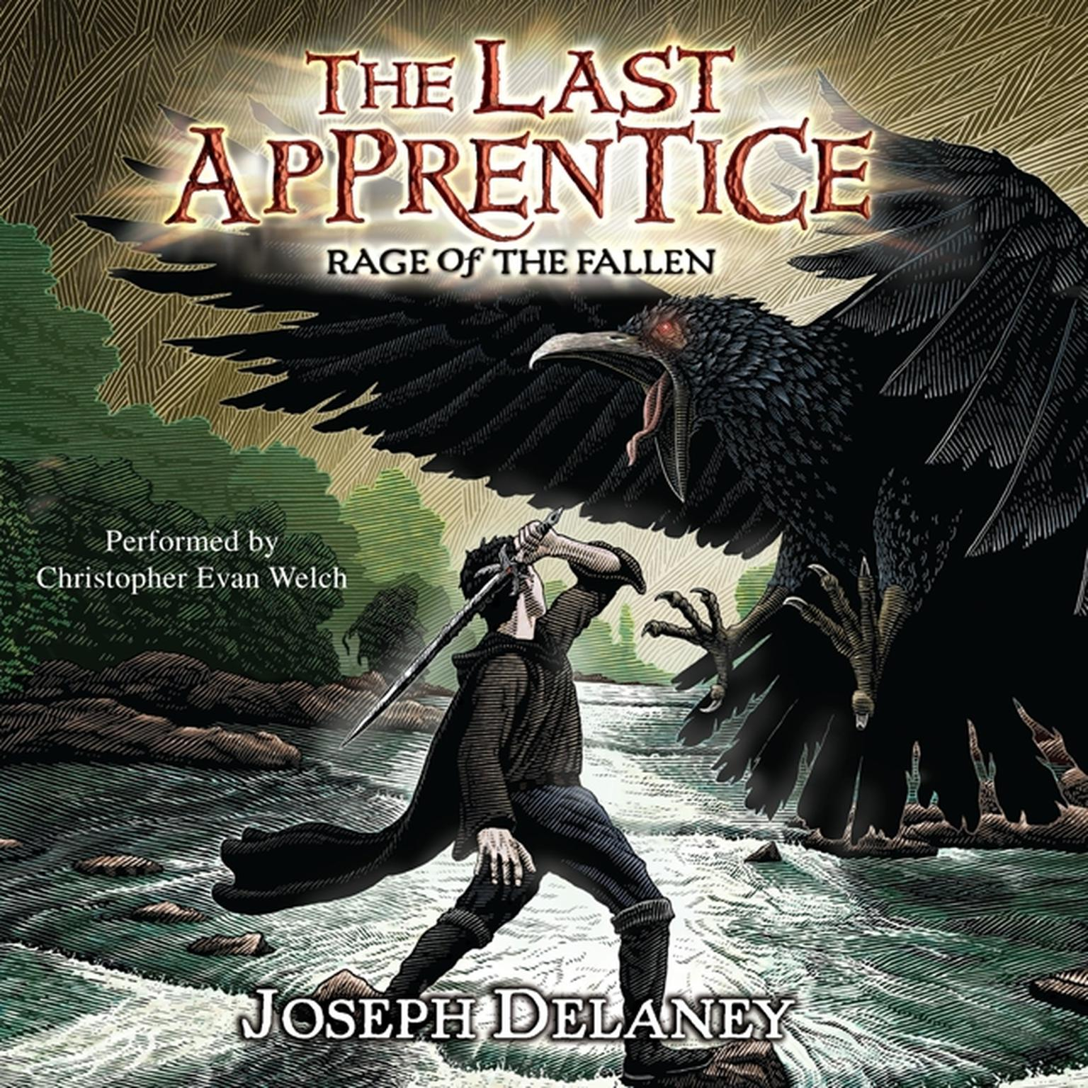 Printable The Last Apprentice: Rage of the Fallen (Book 8) Audiobook Cover Art