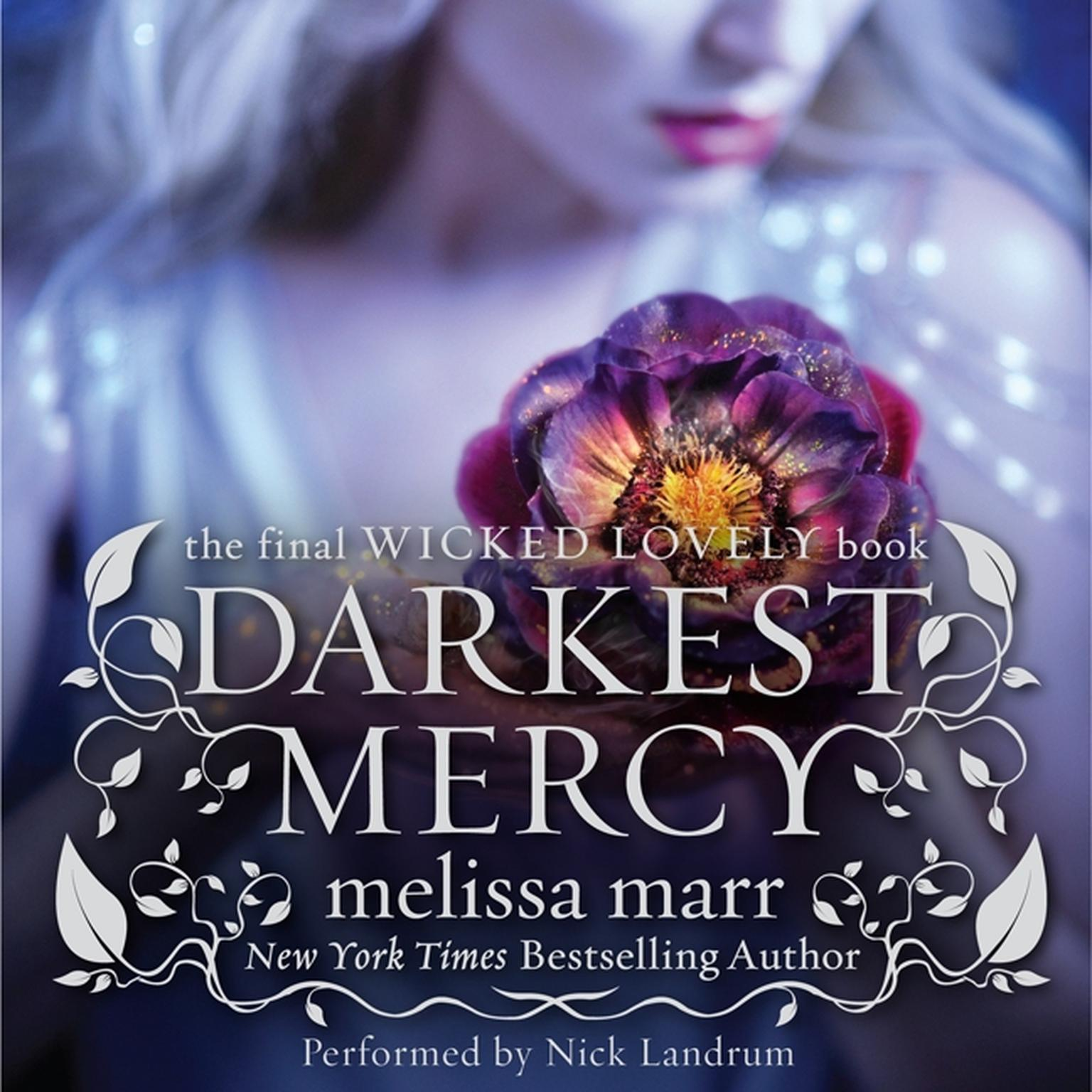 Printable Darkest Mercy Audiobook Cover Art