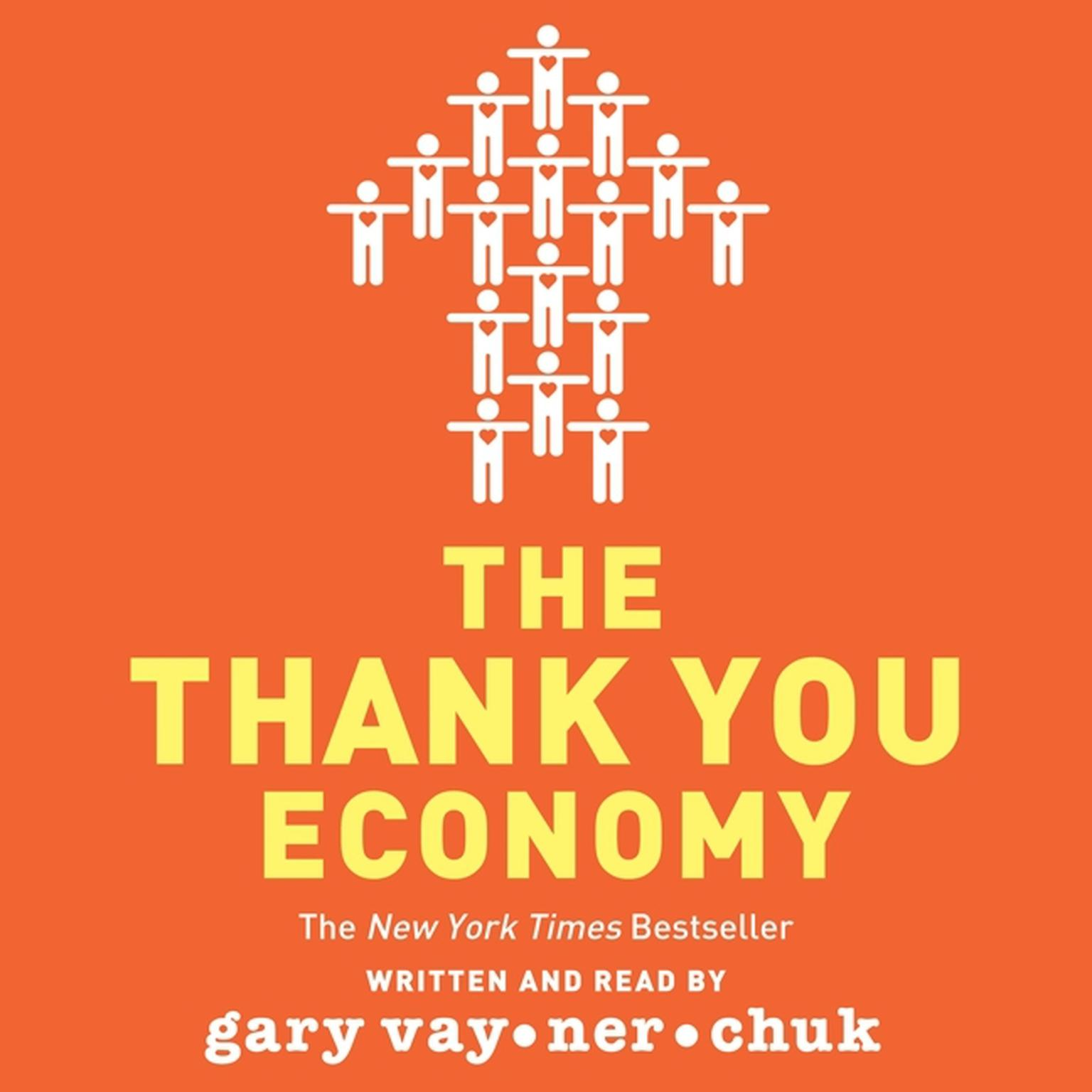 Printable The Thank You Economy Audiobook Cover Art