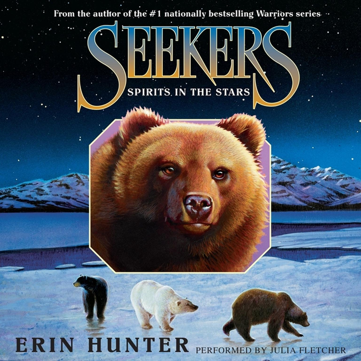 Printable Seekers #6: Spirits in the Stars Audiobook Cover Art