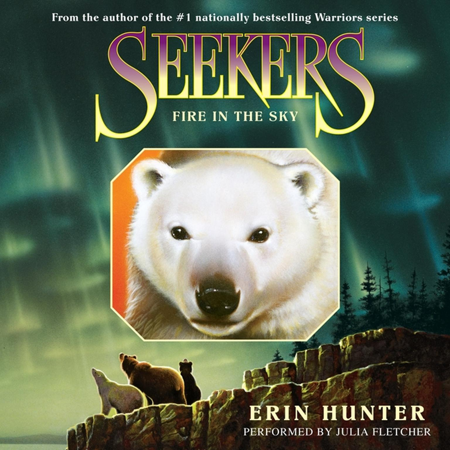 Printable Seekers #5: Fire in the Sky Audiobook Cover Art