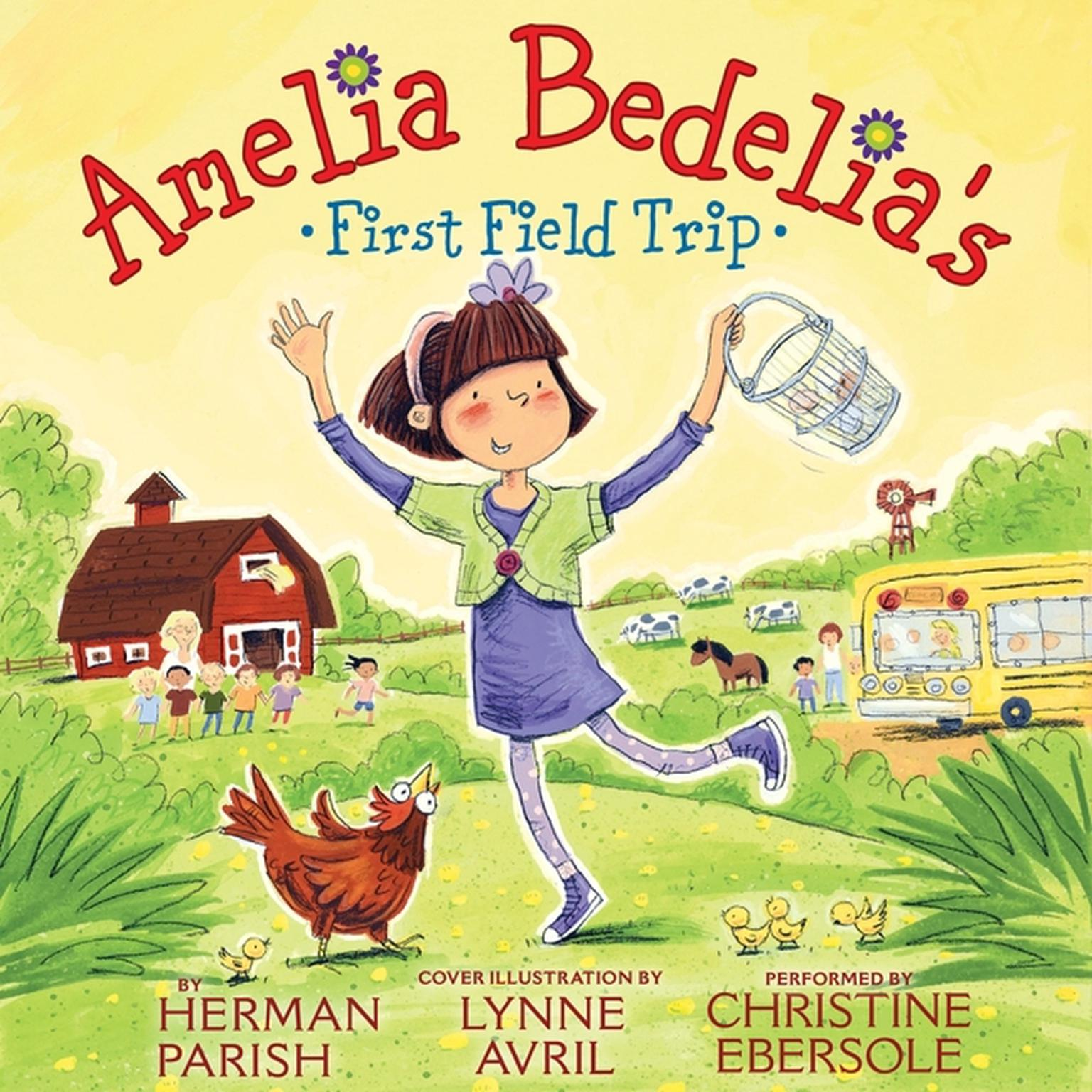 Printable Amelia Bedelia's First Field Trip Audiobook Cover Art