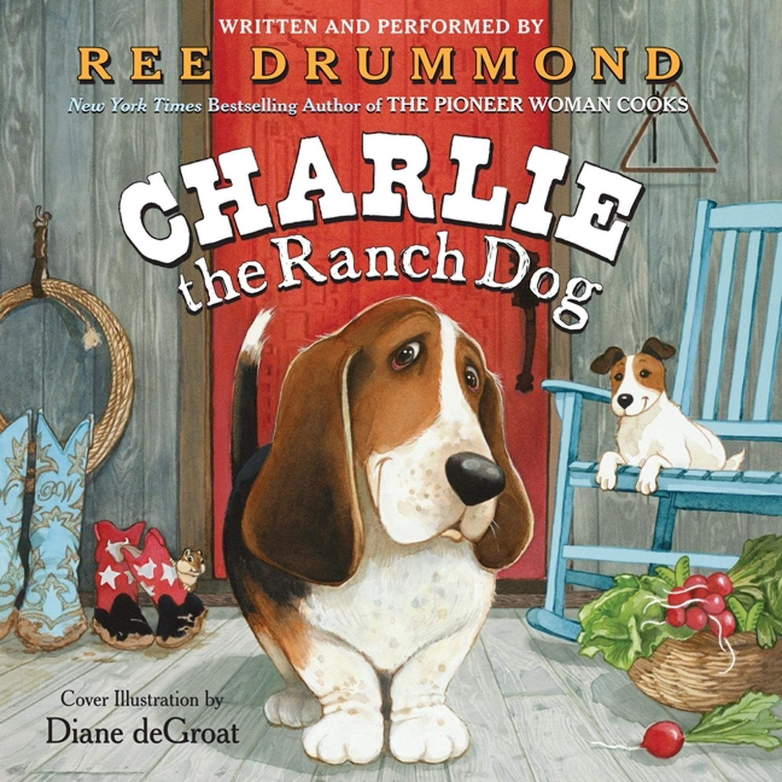 Printable Charlie the Ranch Dog Audiobook Cover Art
