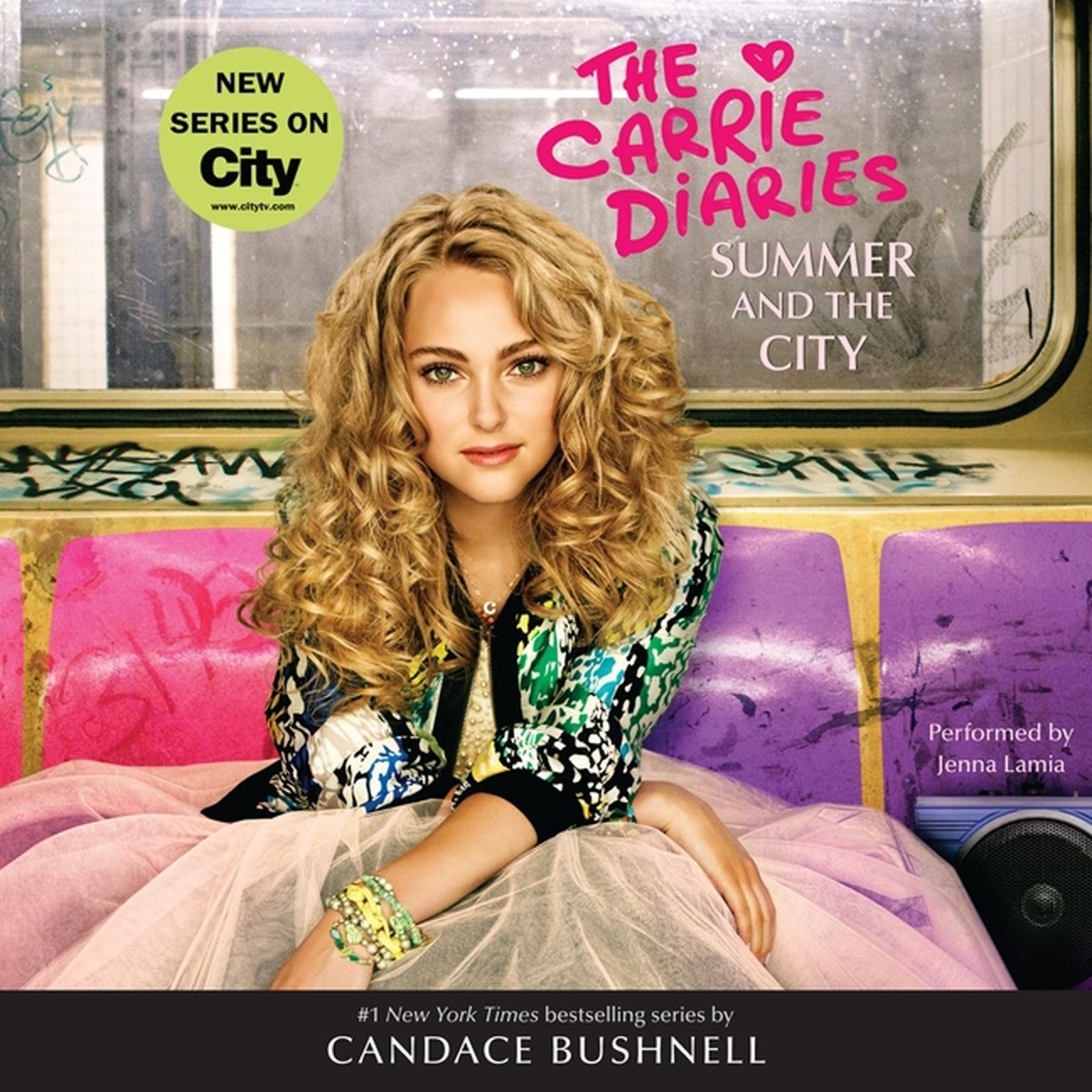 Printable Summer and the City Audiobook Cover Art