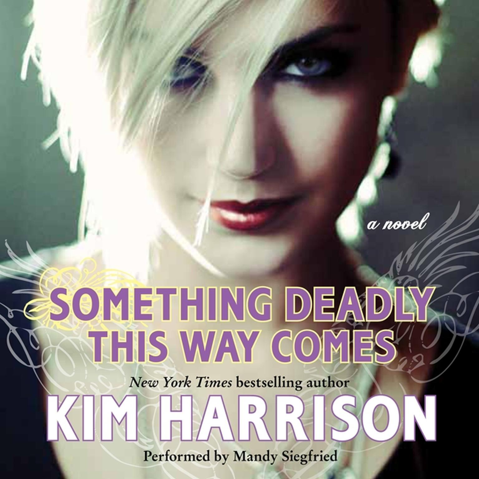 Printable Something Deadly This Way Comes Audiobook Cover Art